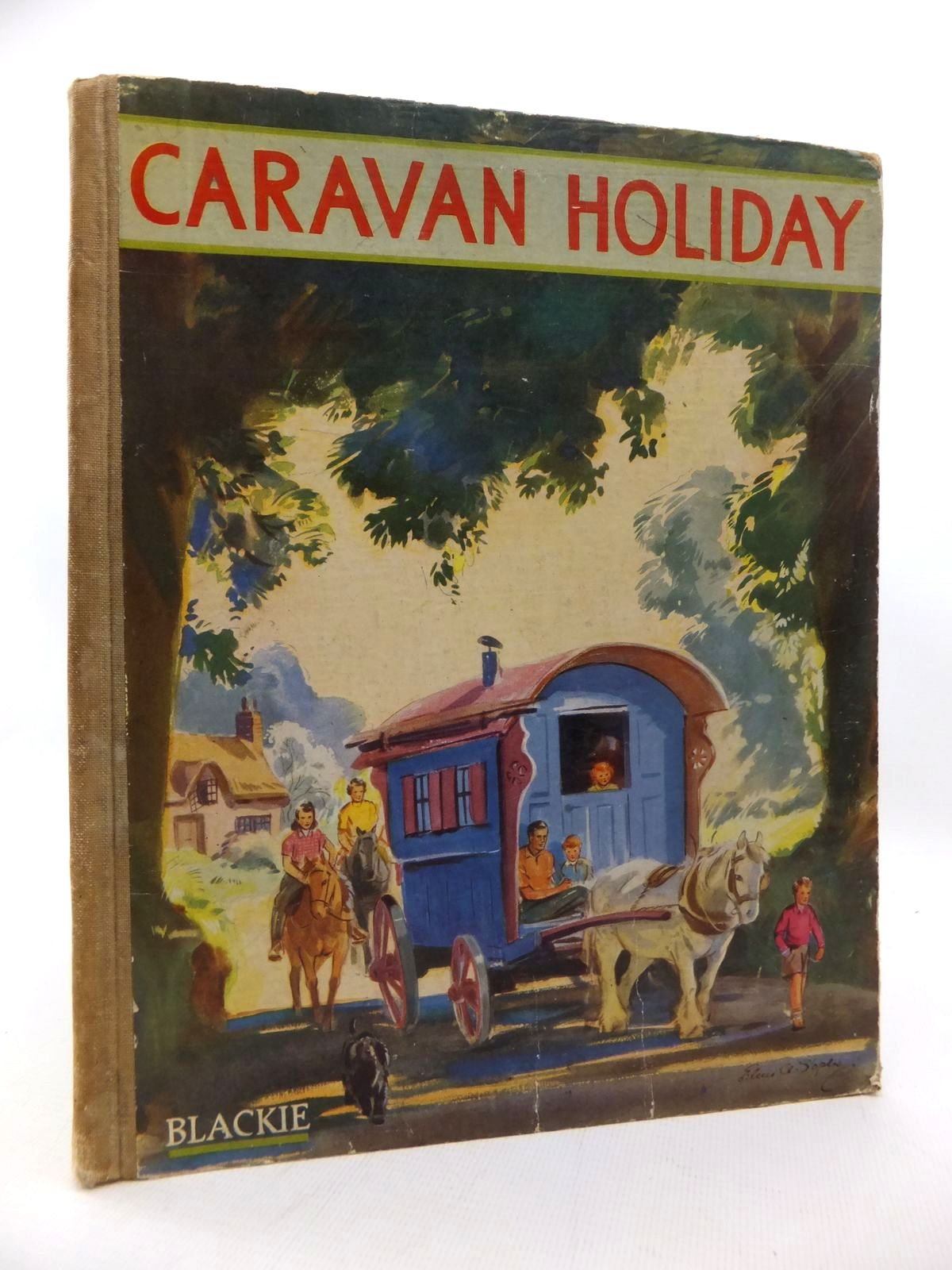 Photo of CARAVAN HOLIDAY written by Gould, Elizabeth illustrated by Soper, Eileen published by Blackie & Son Ltd. (STOCK CODE: 1814674)  for sale by Stella & Rose's Books