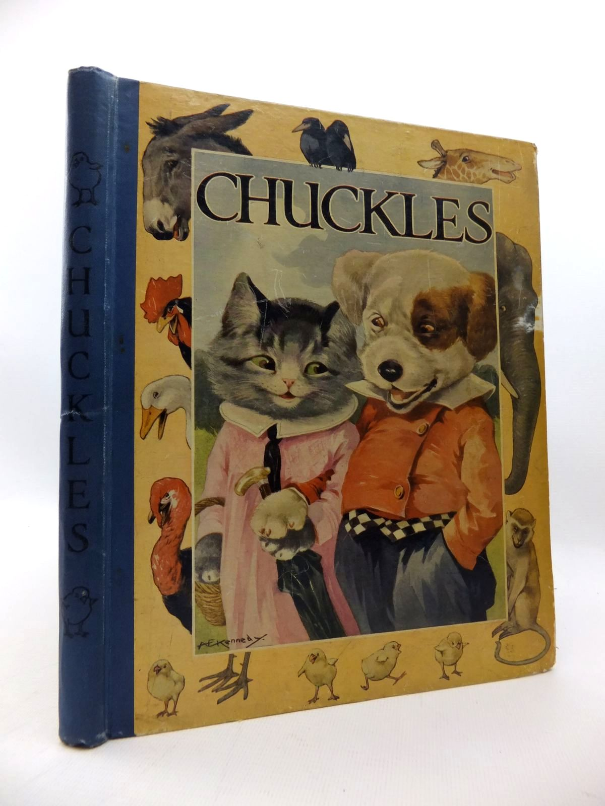 Photo of CHUCKLES written by Pope, Jessie illustrated by Kennedy, A.E. published by Blackie & Son Ltd. (STOCK CODE: 1814678)  for sale by Stella & Rose's Books