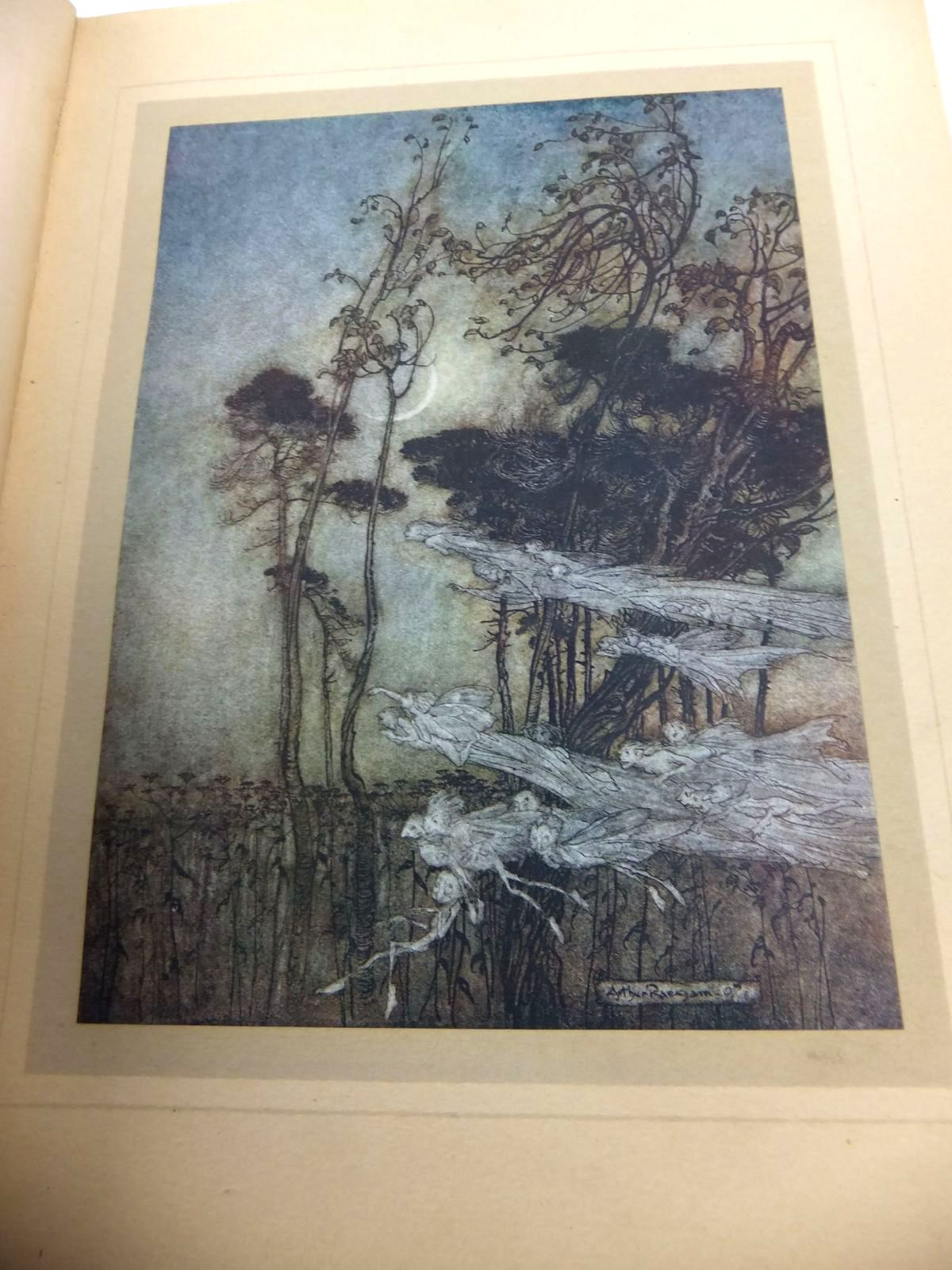 Photo of A MIDSUMMER NIGHT'S DREAM written by Shakespeare, William illustrated by Rackham, Arthur published by William Heinemann (STOCK CODE: 1814697)  for sale by Stella & Rose's Books