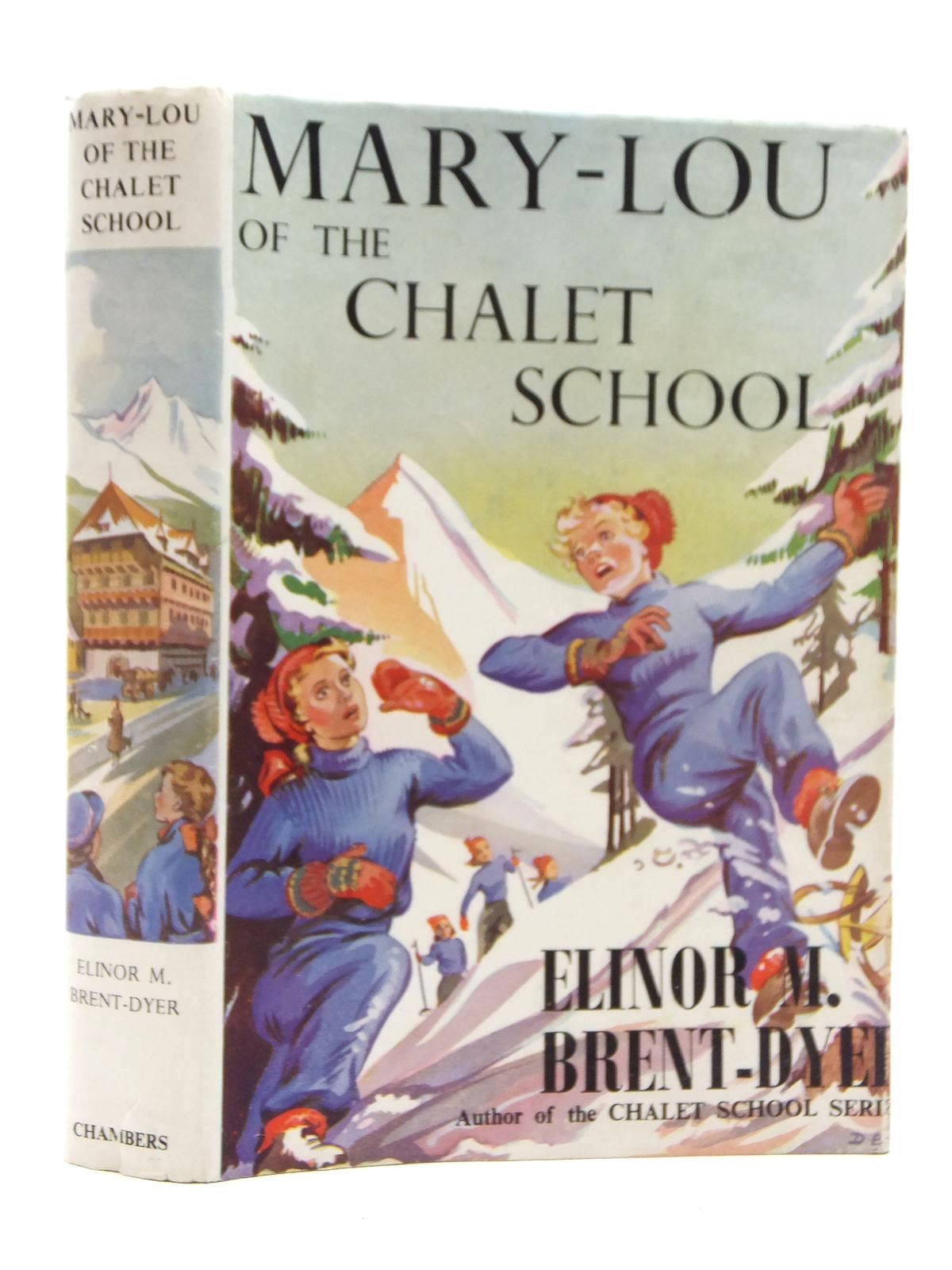 Photo of MARY-LOU OF THE CHALET SCHOOL written by Brent-Dyer, Elinor M. published by W. & R. Chambers Limited (STOCK CODE: 1814719)  for sale by Stella & Rose's Books