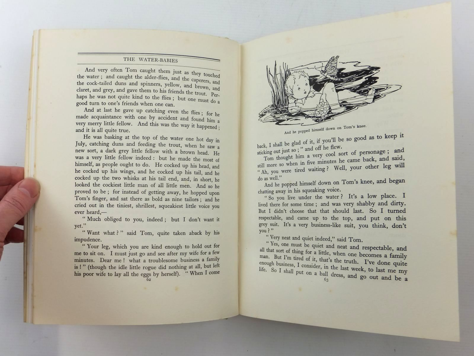 Photo of THE WATER BABIES written by Kingsley, Charles illustrated by Anderson, Anne published by T.C. & E.C. Jack Ltd. (STOCK CODE: 1814722)  for sale by Stella & Rose's Books