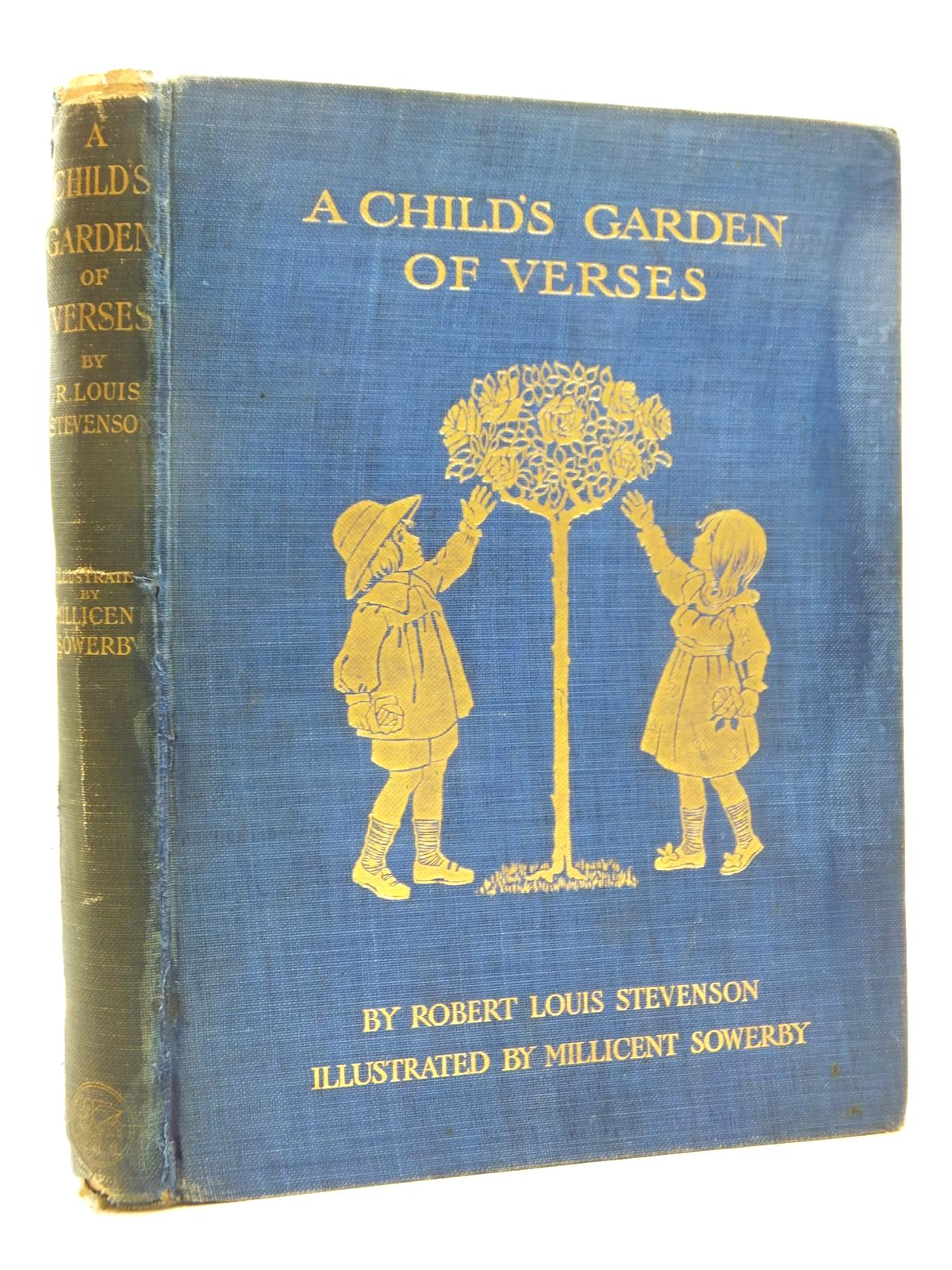Photo of A CHILD'S GARDEN OF VERSES written by Stevenson, Robert Louis illustrated by Sowerby, Millicent published by Chatto & Windus (STOCK CODE: 1814763)  for sale by Stella & Rose's Books