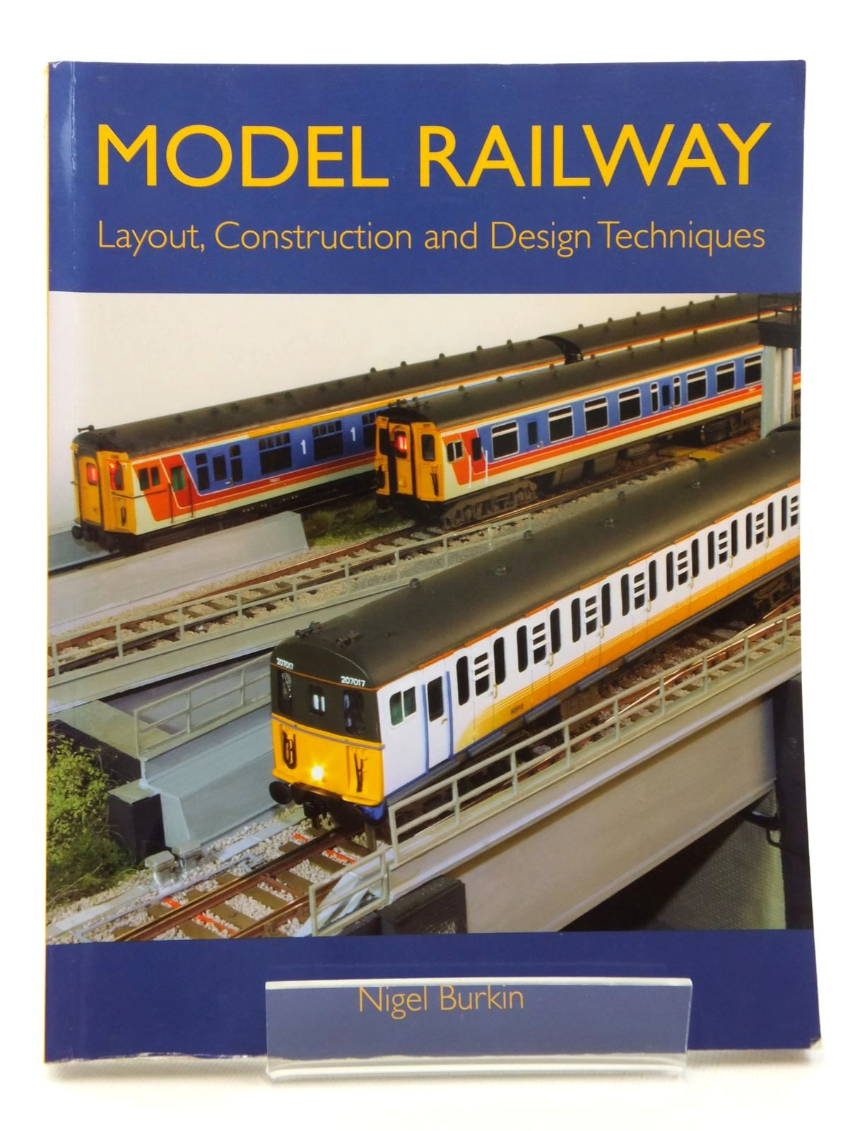 Photo of MODEL RAILWAY LAYOUT, CONSTRUCTION AND DESIGN TECHNIQUES written by Burkin, Nigel published by The Crowood Press (STOCK CODE: 1814780)  for sale by Stella & Rose's Books