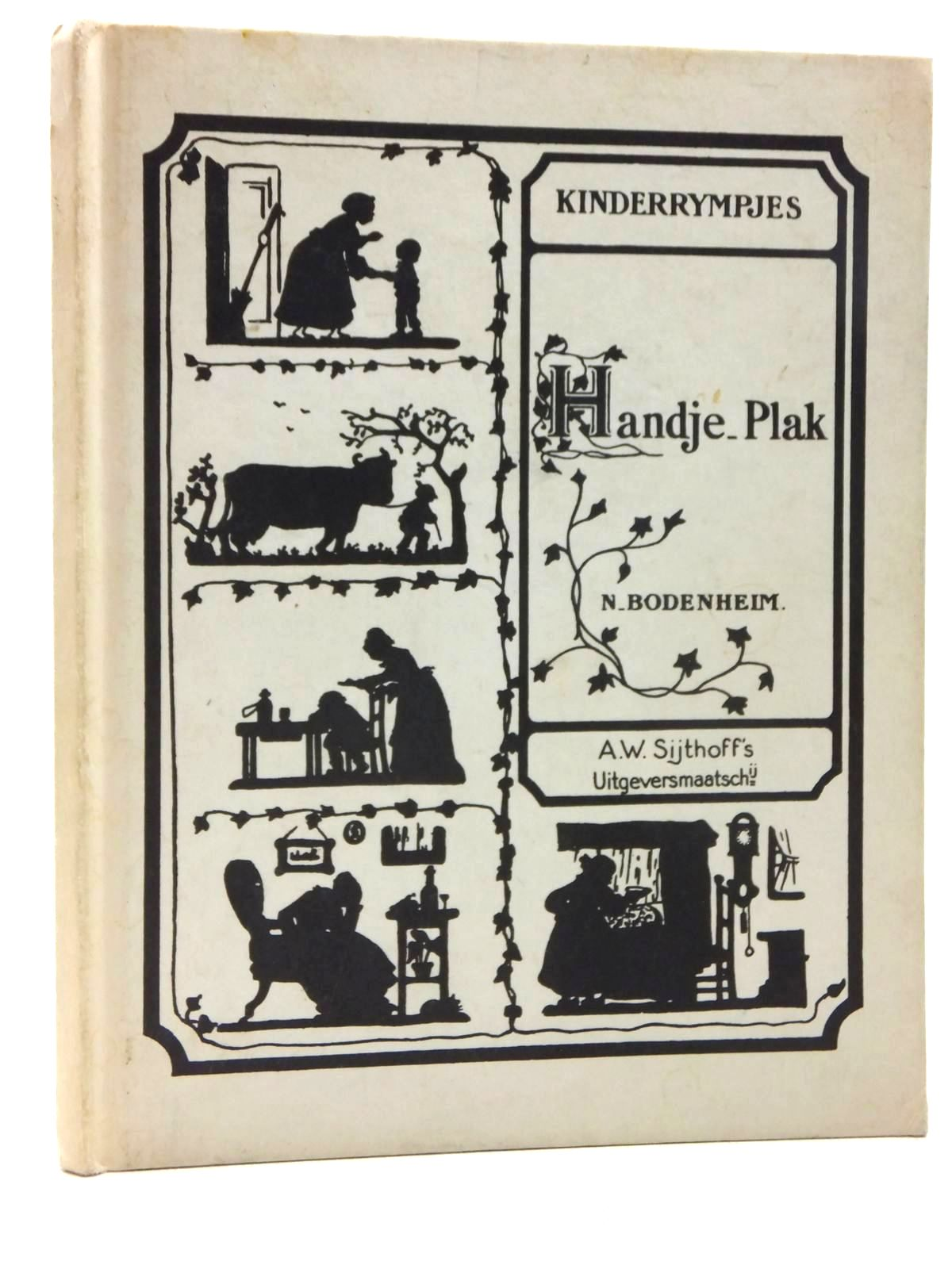 Photo of KINDERRYMPJES: HANDJE_PLAK written by Bodenheim, N. illustrated by Bodenheim, N. published by A.W. Sijthoff (STOCK CODE: 1814784)  for sale by Stella & Rose's Books