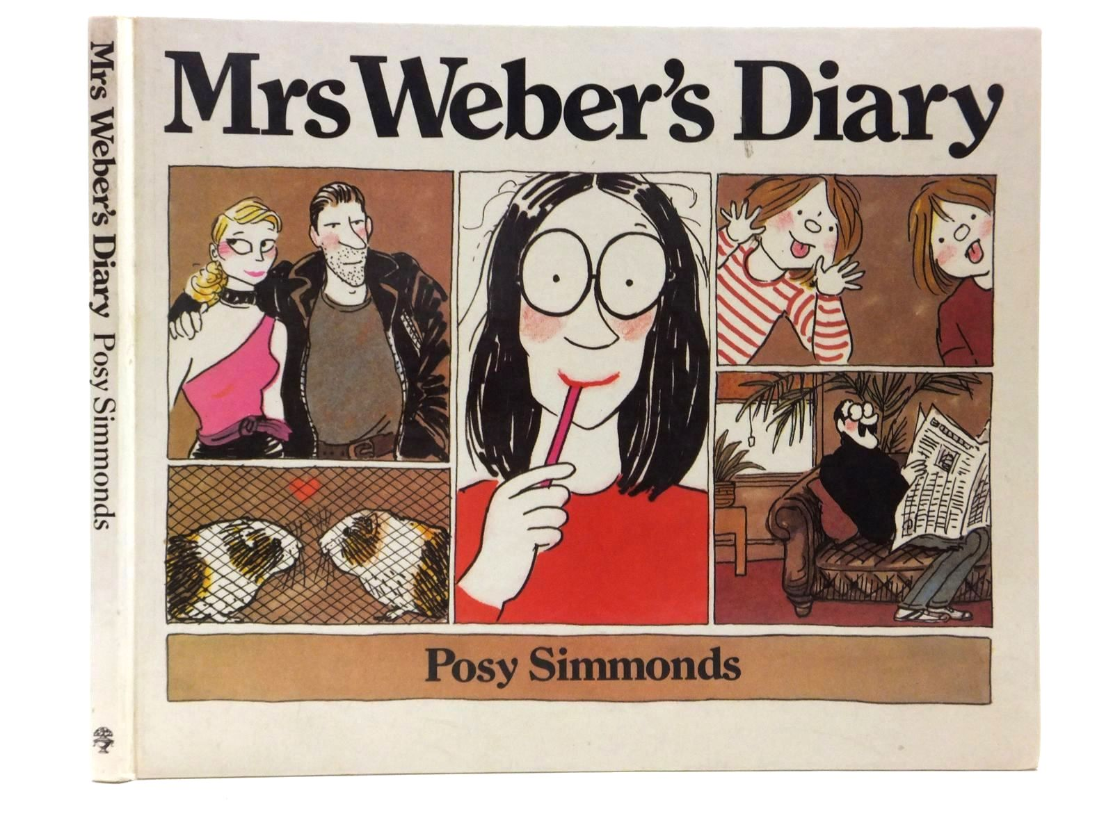 Photo of MRS WEBER'S DIARY written by Simmonds, Posy illustrated by Simmonds, Posy published by Jonathan Cape (STOCK CODE: 1814820)  for sale by Stella & Rose's Books