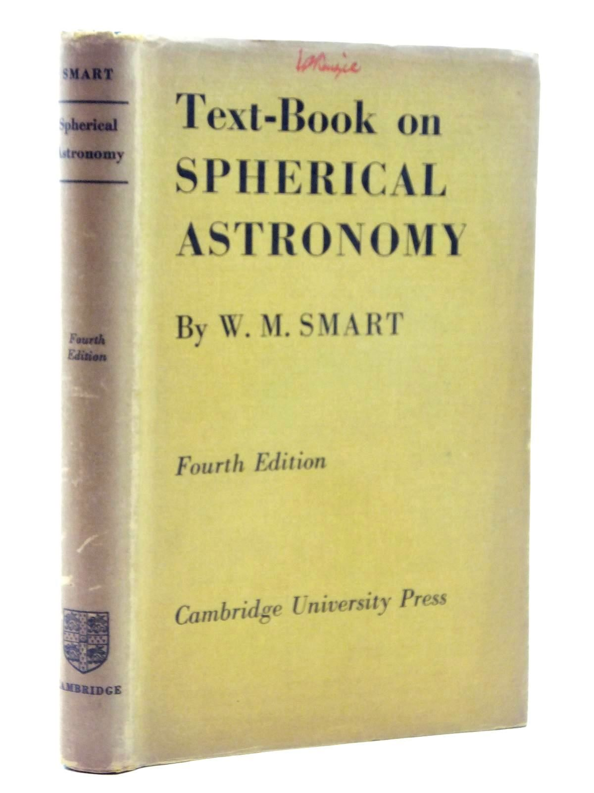 Photo of TEXT-BOOK ON SPHERICAL ASTRONOMY- Stock Number: 1814869