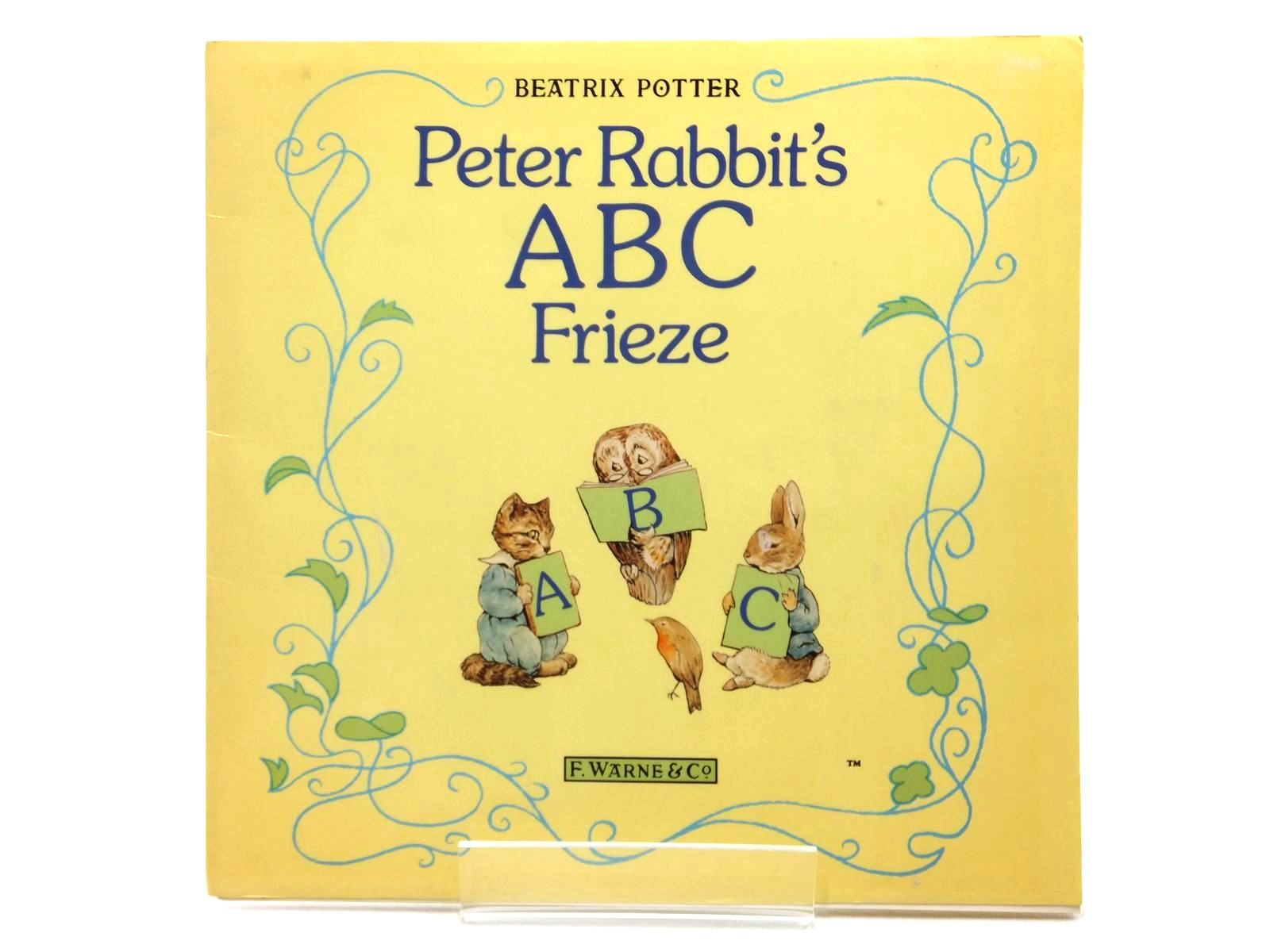 Photo of PETER RABBIT'S ABC FRIEZE written by Potter, Beatrix illustrated by Potter, Beatrix published by Frederick Warne (STOCK CODE: 1814942)  for sale by Stella & Rose's Books