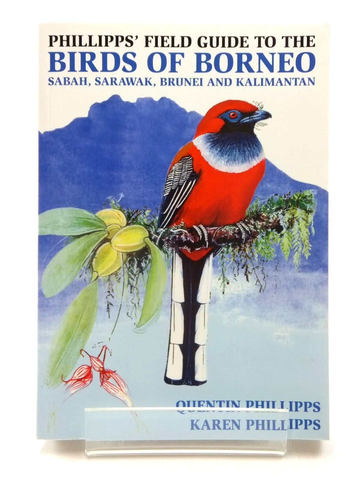 Photo of PHILLIPPS' FIELD GUIDE TO THE BIRDS OF BORNEO- Stock Number: 1815275