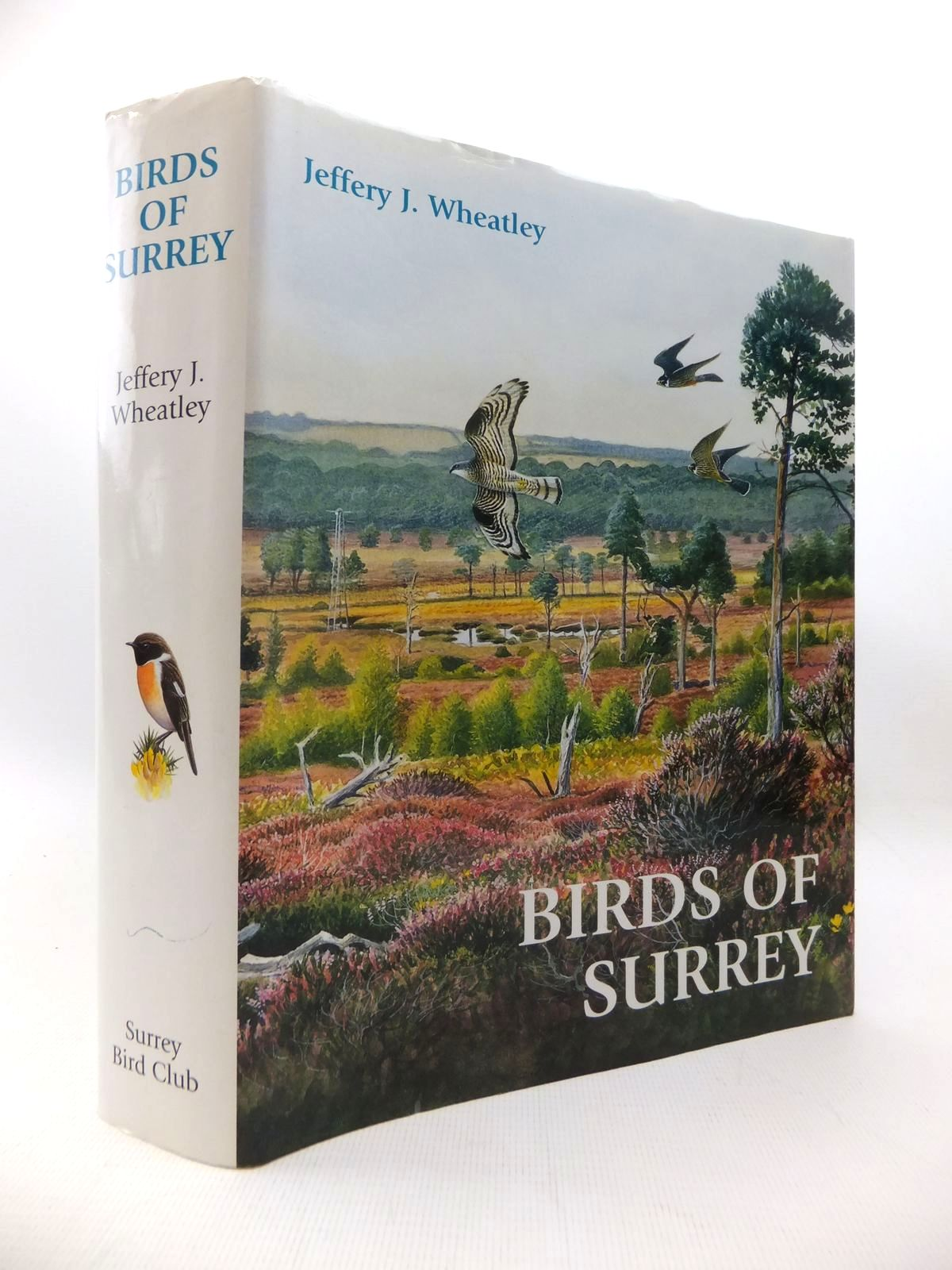 Photo of BIRDS OF SURREY written by Wheatley, Jeffery J. illustrated by Davis, John<br />et al.,  published by Surrey Bird Club (STOCK CODE: 1815381)  for sale by Stella & Rose's Books
