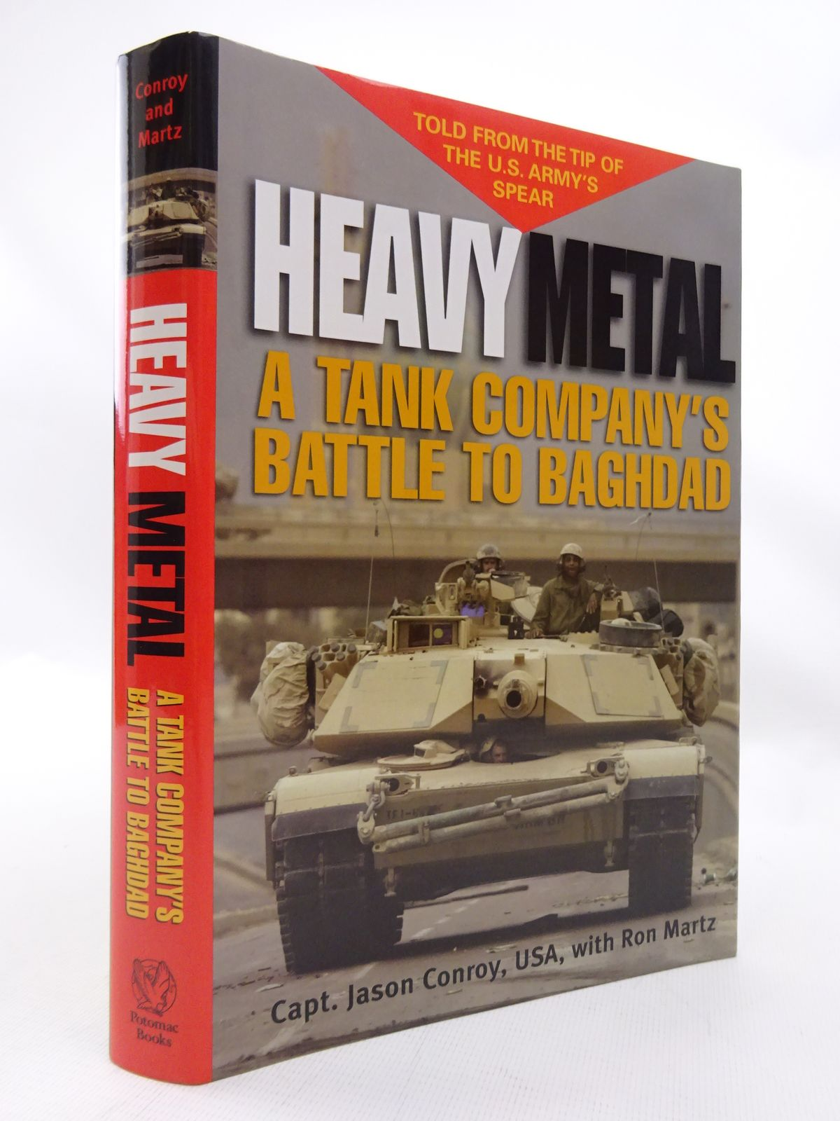 Photo of HEAVY METAL: A TANK COMPANY'S BATTLE TO BAGHDAD- Stock Number: 1815500