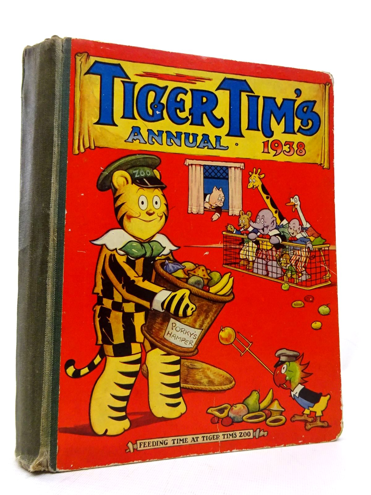 Photo of TIGER TIM'S ANNUAL 1938 published by The Amalgamated Press (STOCK CODE: 1815524)  for sale by Stella & Rose's Books