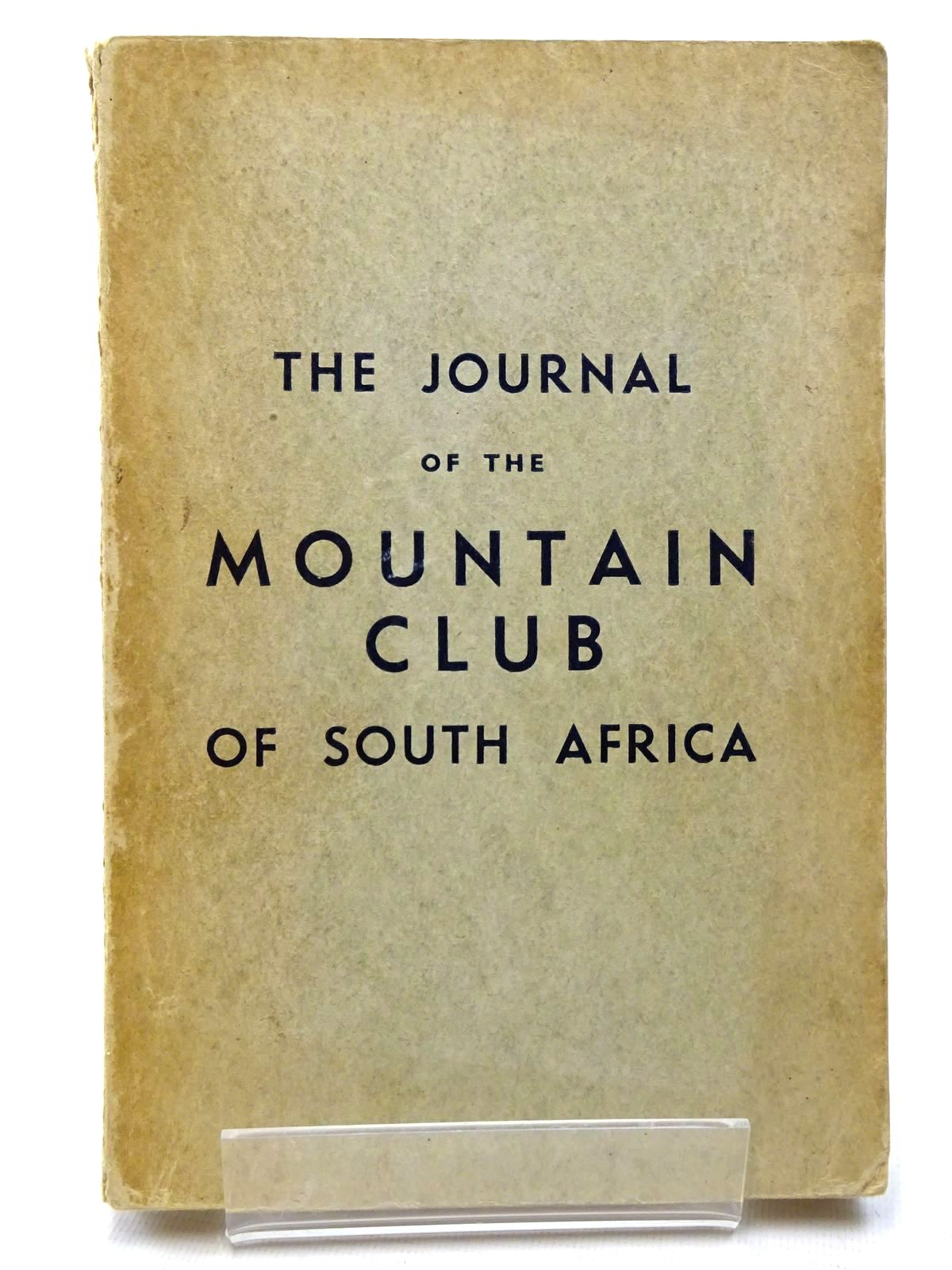 Photo of THE JOURNAL OF THE MOUNTAIN CLUB OF SOUTH AFRICA 1939- Stock Number: 1815624