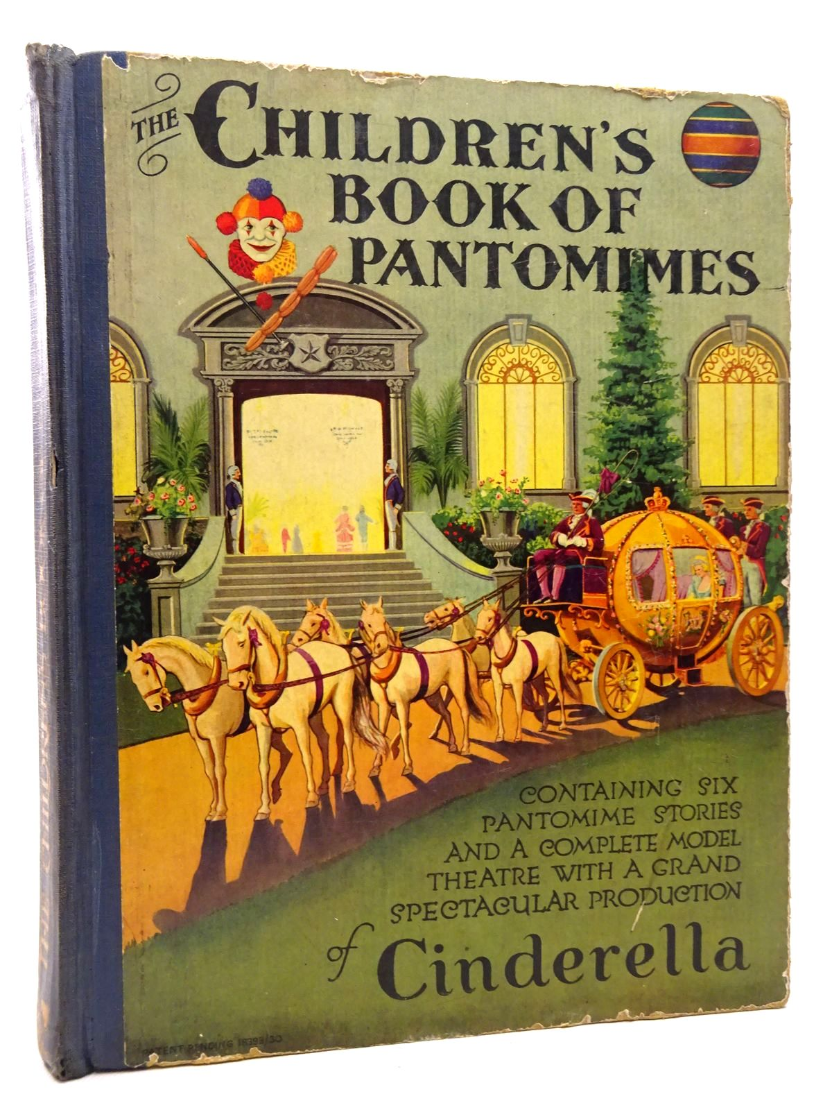 Photo of THE CHILDREN'S BOOK OF PANTOMIMES published by Cassell & Company Limited (STOCK CODE: 1815752)  for sale by Stella & Rose's Books