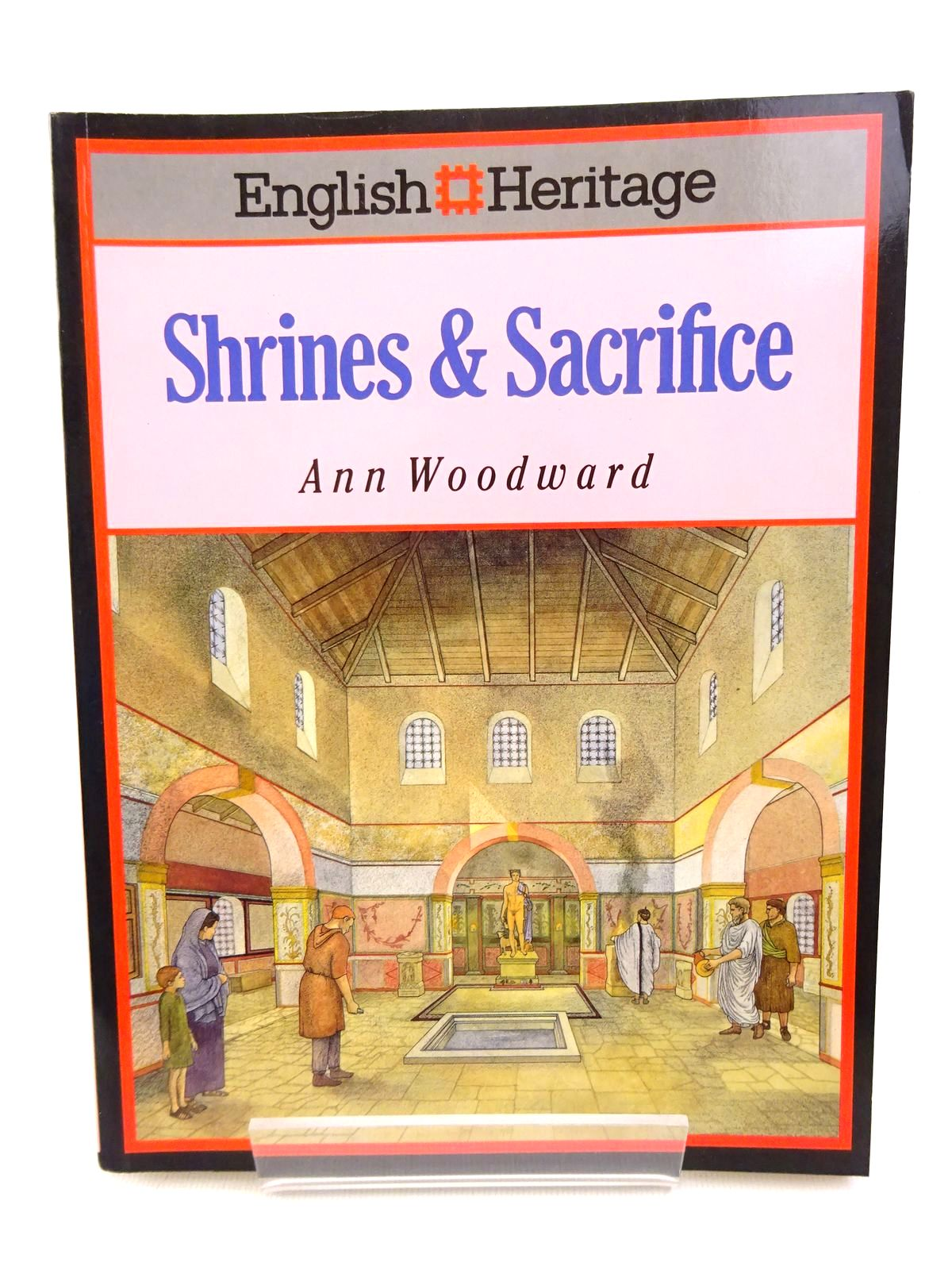 Photo of ENGLISH HERITAGE BOOK OF SHRINES & SACRIFICE- Stock Number: 1815775