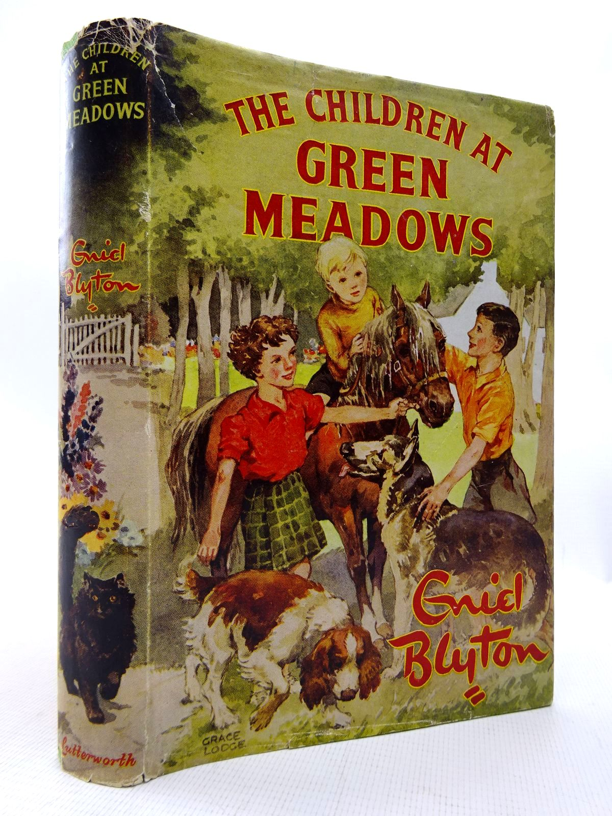 Photo of THE CHILDREN AT GREEN MEADOWS written by Blyton, Enid illustrated by Lodge, Grace published by Lutterworth Press (STOCK CODE: 1815826)  for sale by Stella & Rose's Books