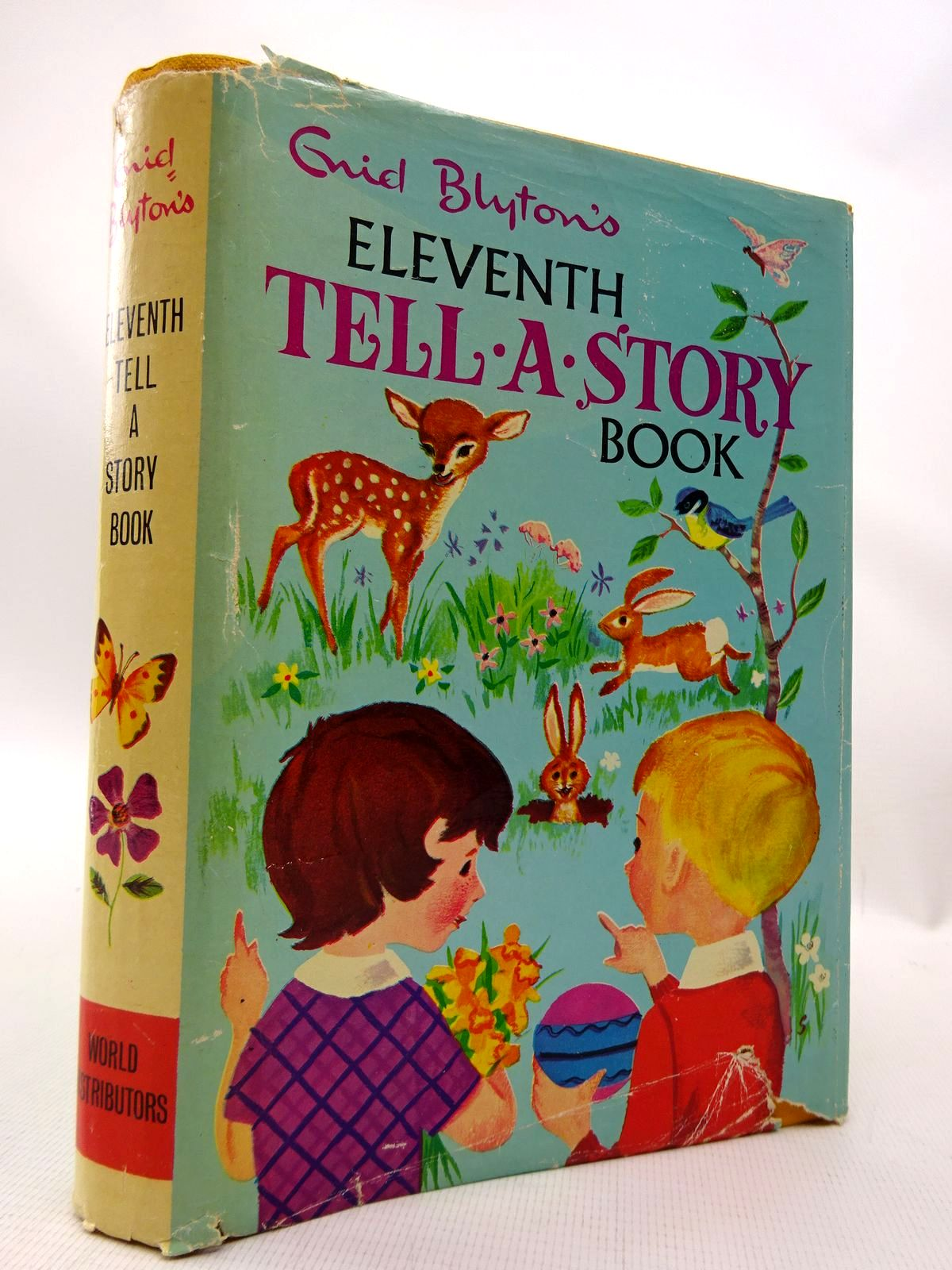 Photo of ENID BLYTON'S ELEVENTH TELL-A-STORY BOOK written by Blyton, Enid published by World Distributors Ltd. (STOCK CODE: 1815830)  for sale by Stella & Rose's Books