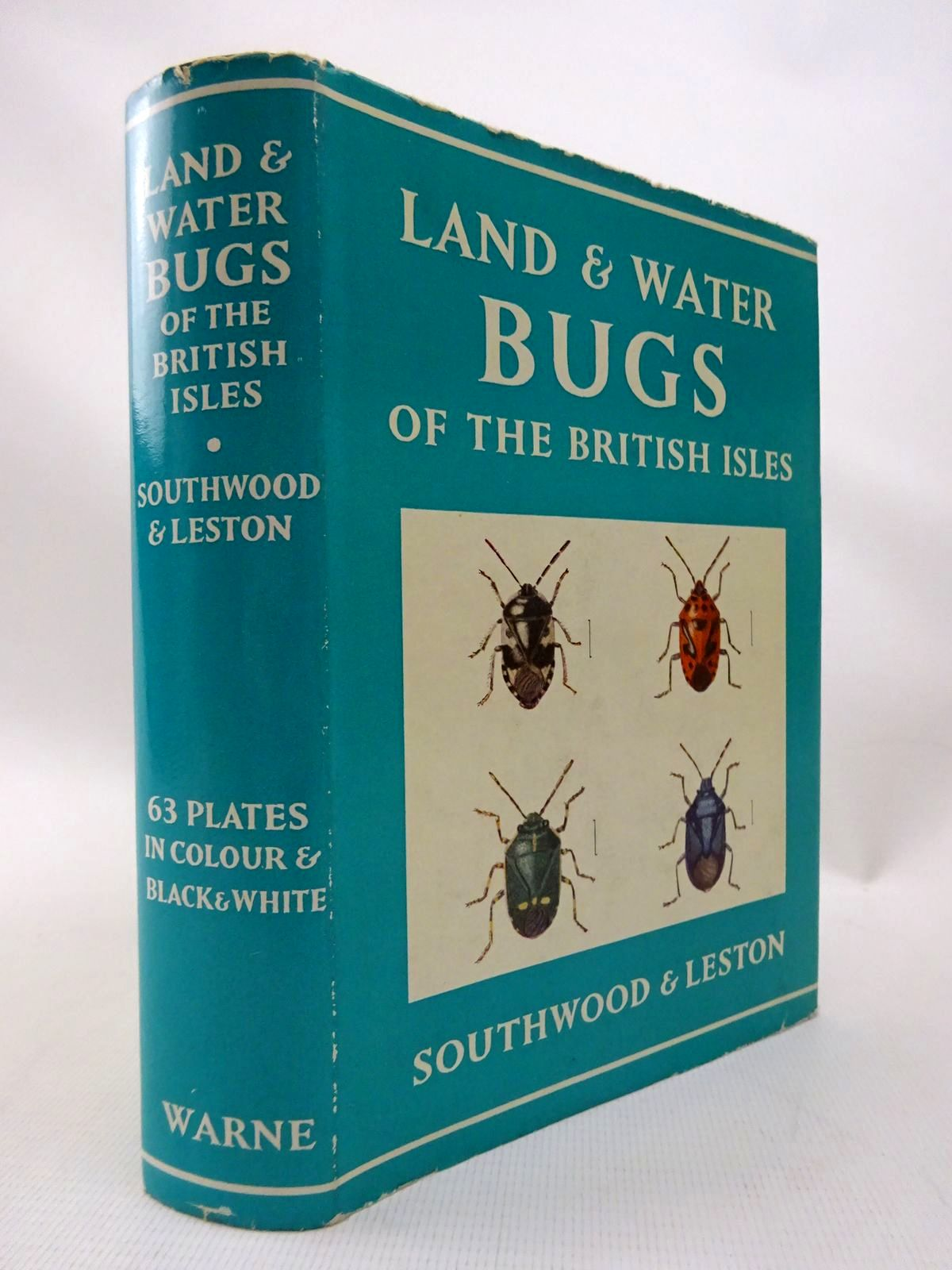 Photo of LAND AND WATER BUGS OF THE BRITISH ISLES written by Southwood, T.R.E. Leston, Dennis illustrated by Swain, H.D. Entwistle, P. Entwishle, H.M. Southwood, T.R.E. Leston, Dennis published by Frederick Warne & Co Ltd. (STOCK CODE: 1815854)  for sale by Stella & Rose's Books