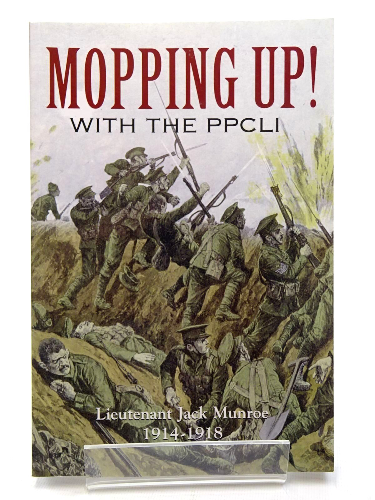Photo of MOPPING UP! THE WAR, THROUGH THE EYES OF BOBBIE BURNS REGIMENTAL MASCOT- Stock Number: 1815894