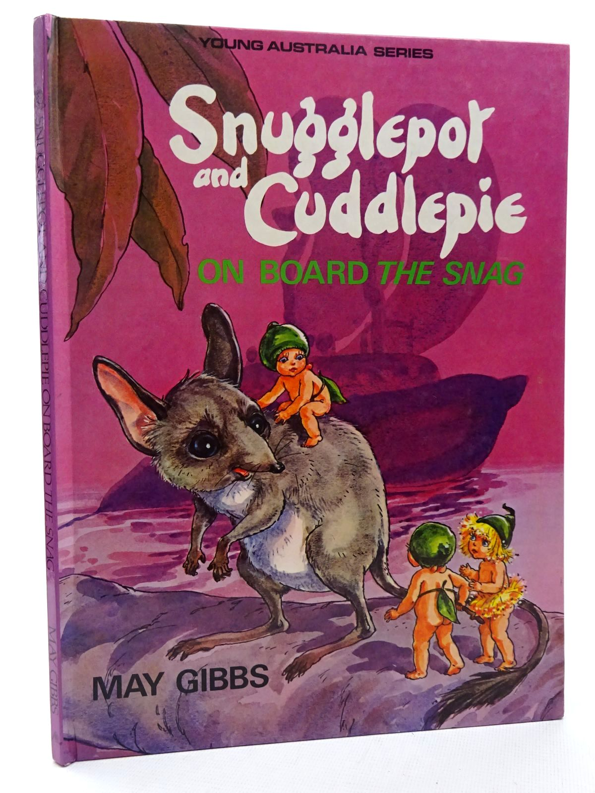 Photo of SNUGGLEPOT AND CUDDLEPIE ON BOARD THE SNAG written by Gibbs, May illustrated by Young, Noela published by Angus & Robertson Publishers (STOCK CODE: 1815923)  for sale by Stella & Rose's Books