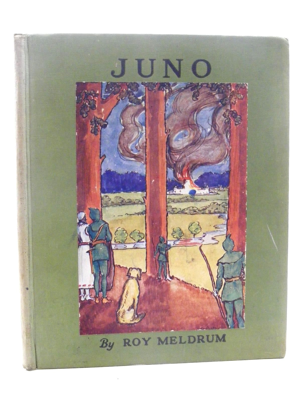 Photo of JUNO written by Meldrum, Roy illustrated by Meldrum, Roy published by Basil Blackwell (STOCK CODE: 1815957)  for sale by Stella & Rose's Books