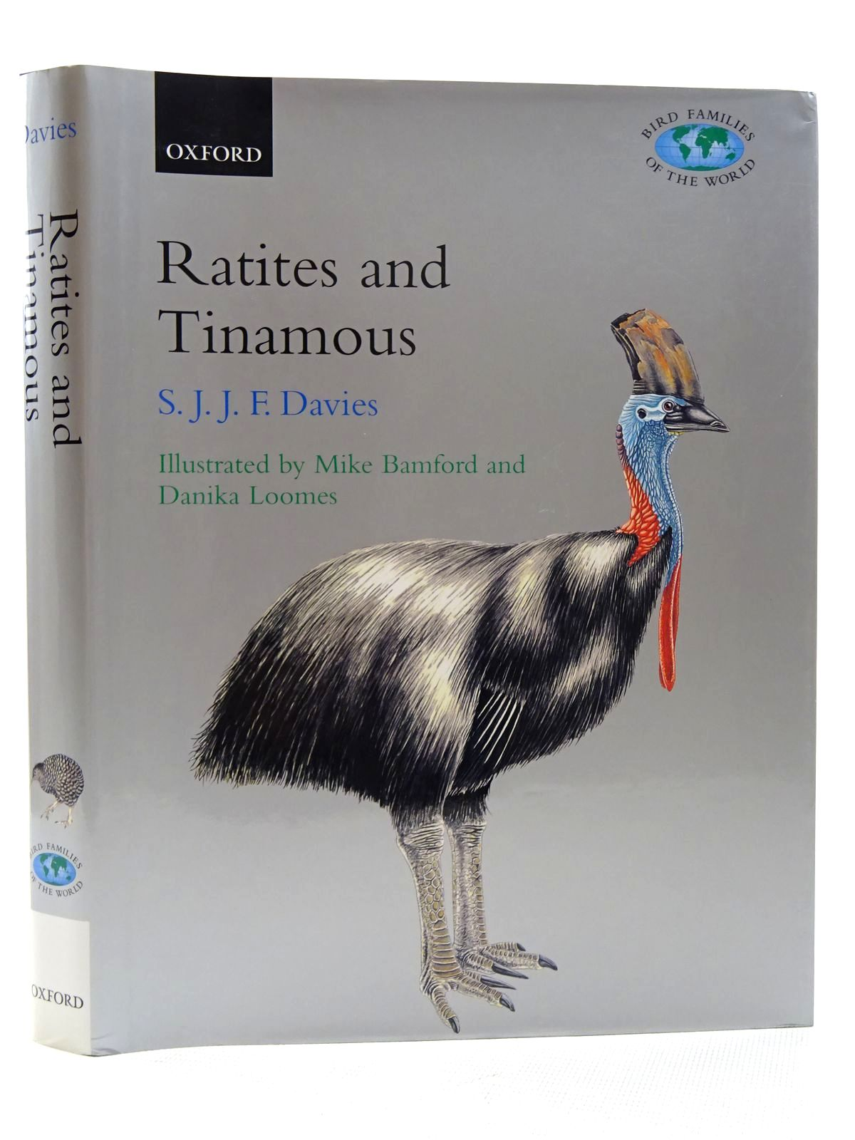 Photo of RATITES AND TINAMOUS (BIRD FAMILIES OF THE WORLD SERIES)- Stock Number: 1815976