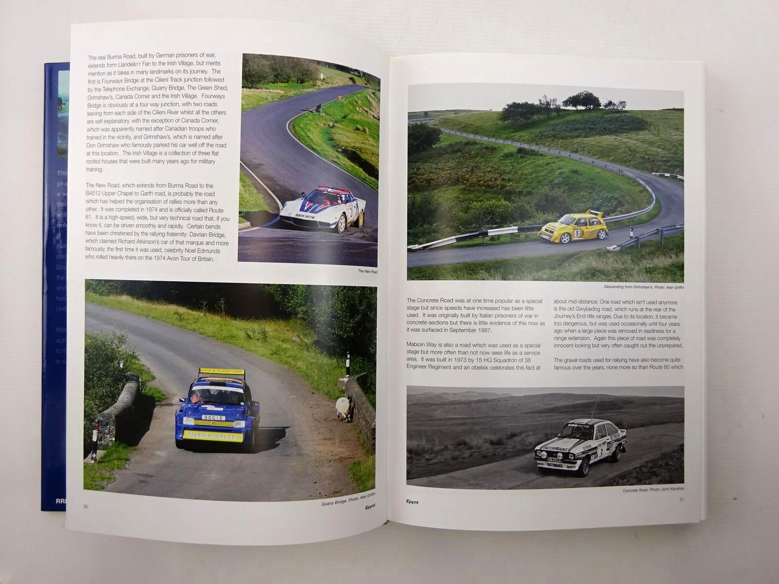 Photo of EPYNT A STAGE RALLYING HISTORY written by Leonard, Martin