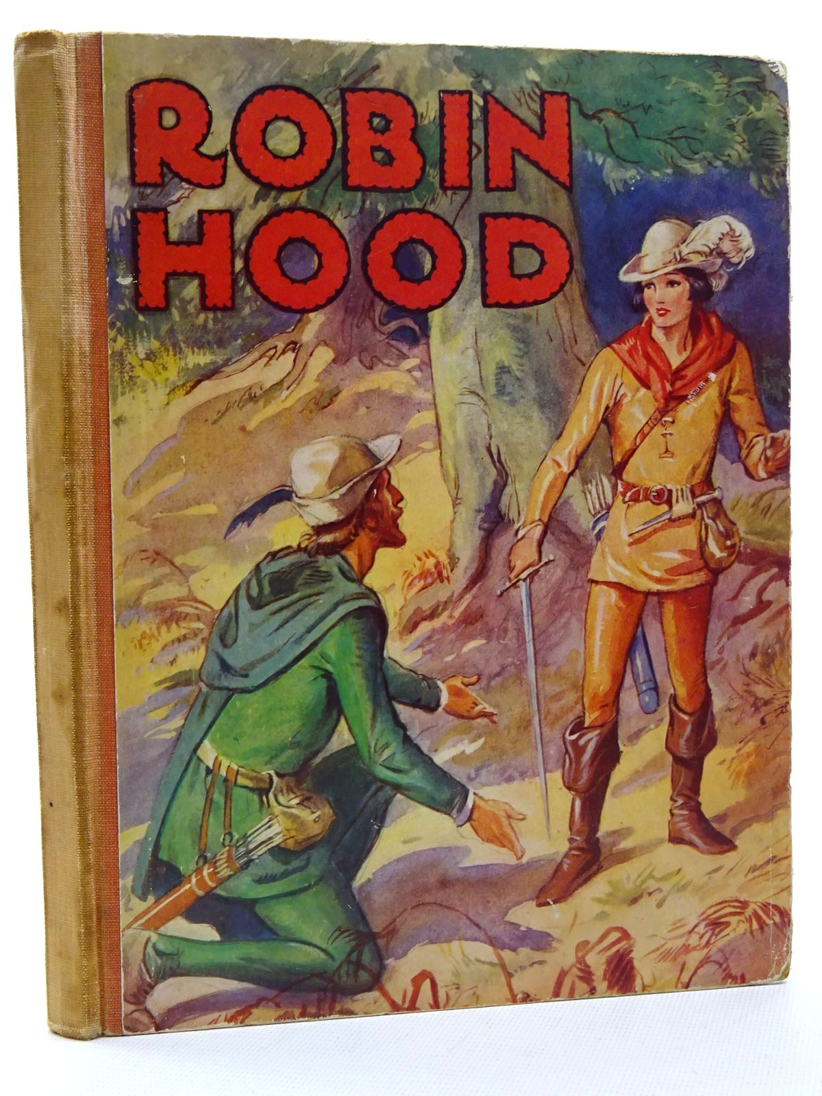 Photo of THE CHILDREN'S ROBIN HOOD written by Lee, F.H. illustrated by Appleton, Honor C. published by George G. Harrap & Co. Ltd. (STOCK CODE: 1816001)  for sale by Stella & Rose's Books