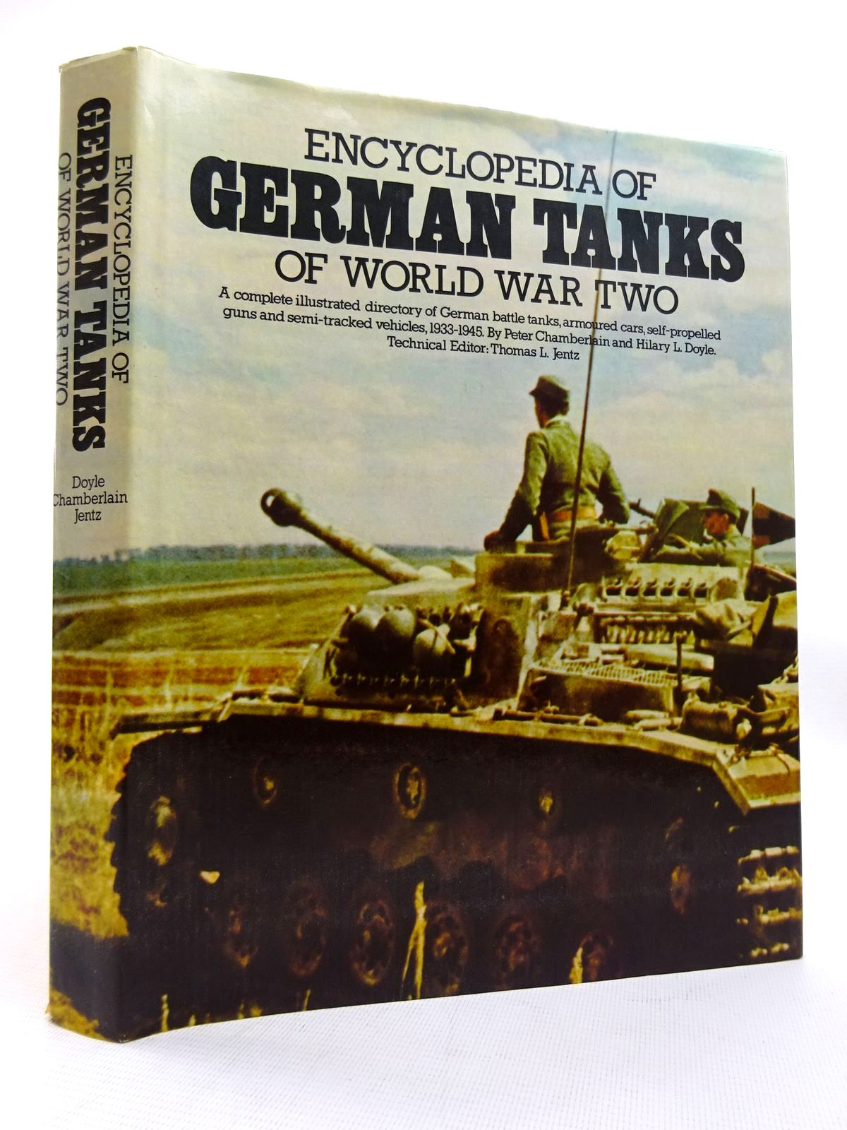 Photo of ENCYCLOPEDIA OF GERMAN TANKS OF WORLD WAR TWO written by Chamberlain, Peter