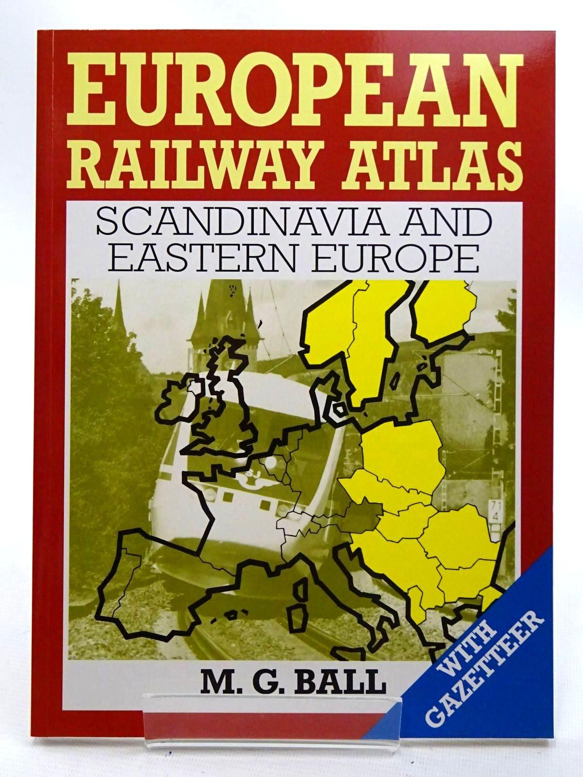 Photo of EUROPEAN RAILWAY ATLAS SCANDINAVIA AND EASTERN EUROPE- Stock Number: 1816162