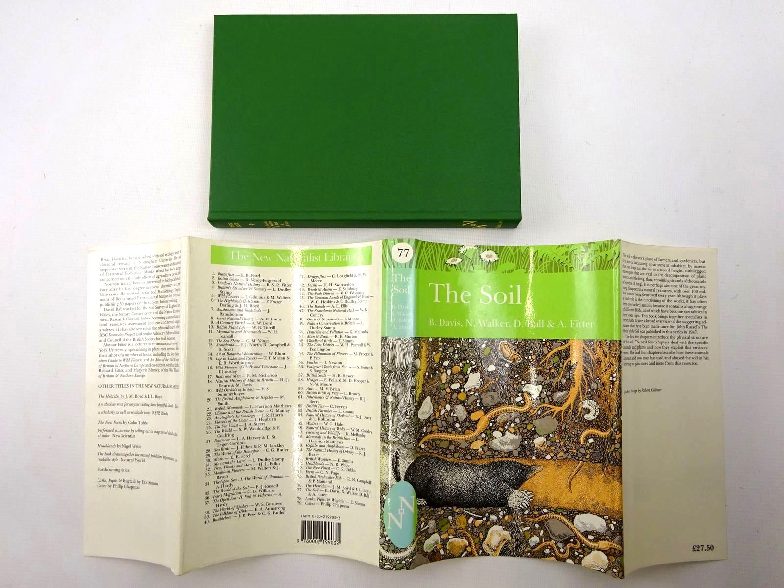Photo of THE SOIL (NN 77) written by Davis, B.N.K. published by Collins (STOCK CODE: 1816249)  for sale by Stella & Rose's Books