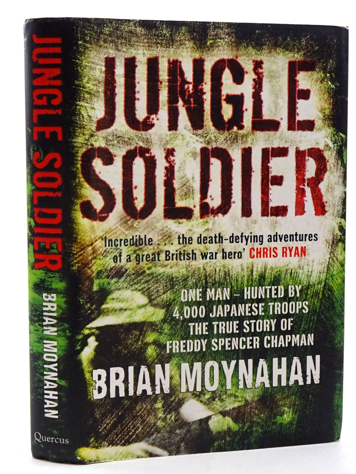 Photo of JUNGLE SOLDIER written by Moynahan, Brian published by Quercus (STOCK CODE: 1816271)  for sale by Stella & Rose's Books