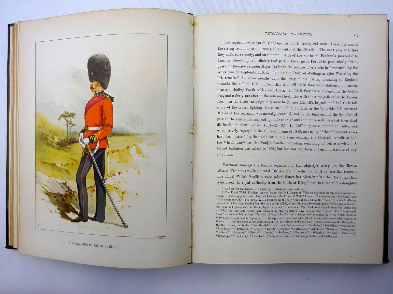 Photo of HER MAJESTY'S ARMY & HER MAJESTY'S INDIAN AND COLONIAL FORCES (3 VOLUMES) written by Richards, Walter illustrated by Giles, G.D. published by J.S. Virtue & Co Limited (STOCK CODE: 1816293)  for sale by Stella & Rose's Books