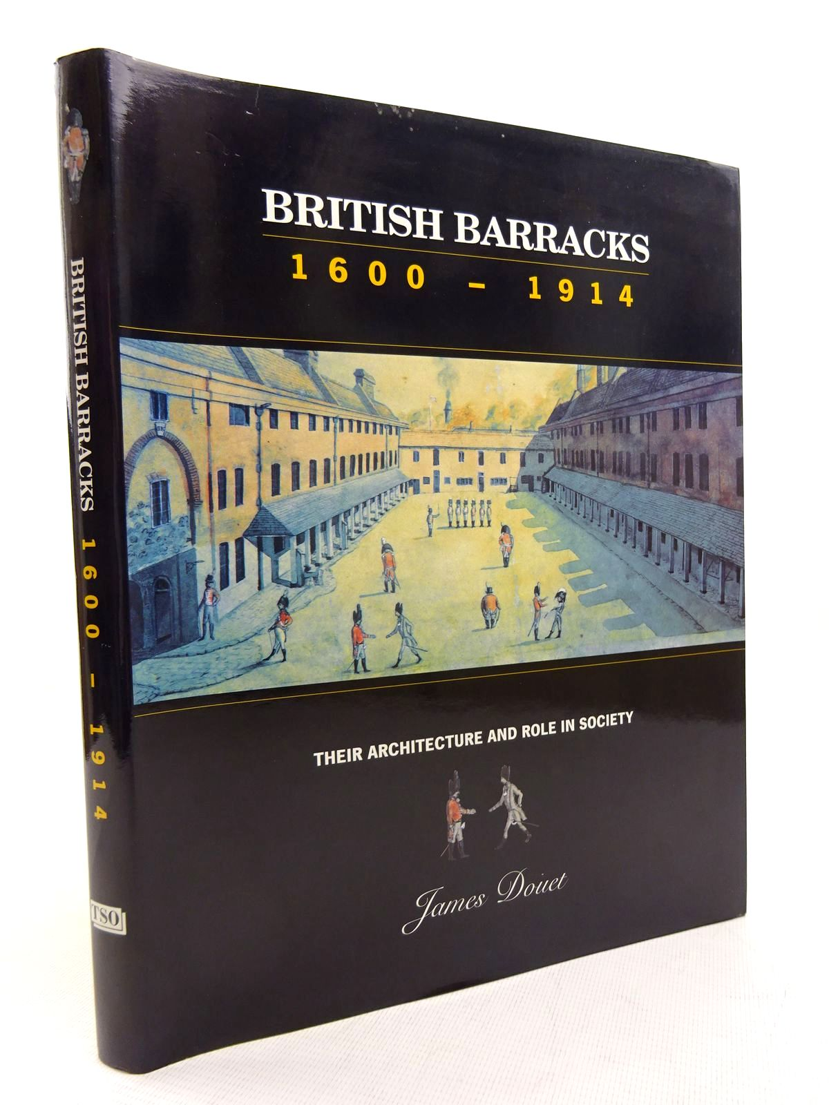 Photo of BRITISH BARRACKS 1600-1914: THEIR ARCHITECTURE AND ROLE IN SOCIETY written by Douet, James published by The Stationery Office (STOCK CODE: 1816319)  for sale by Stella & Rose's Books
