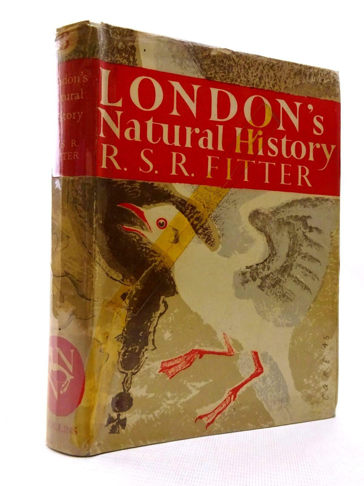 Photo of LONDON'S NATURAL HISTORY (NN 3) written by Fitter, R.S.R. illustrated by Hosking, Eric published by Collins (STOCK CODE: 1816335)  for sale by Stella & Rose's Books