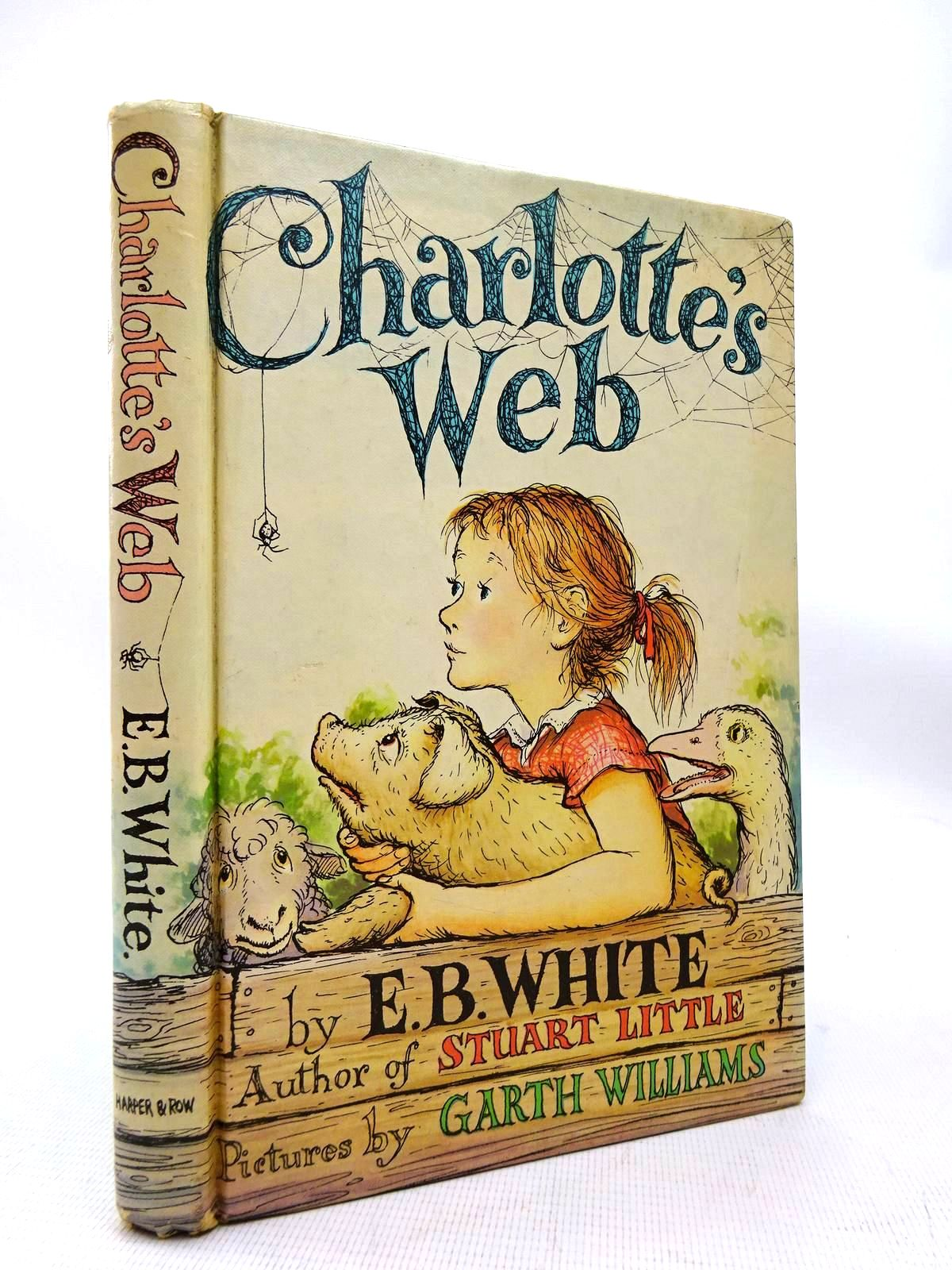 Photo of CHARLOTTE'S WEB written by White, E.B. illustrated by Williams, Garth published by Harper & Row (STOCK CODE: 1816363)  for sale by Stella & Rose's Books