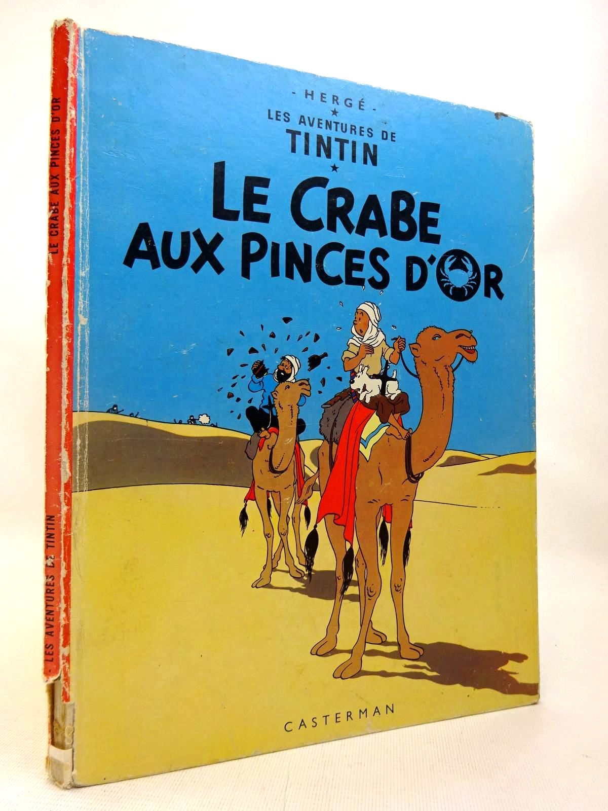Photo of LES AVENTURES DE TINTIN - LE CRABE AUX PINCES D'OR written by Herge,  illustrated by Herge,  published by Methuen (STOCK CODE: 1816405)  for sale by Stella & Rose's Books