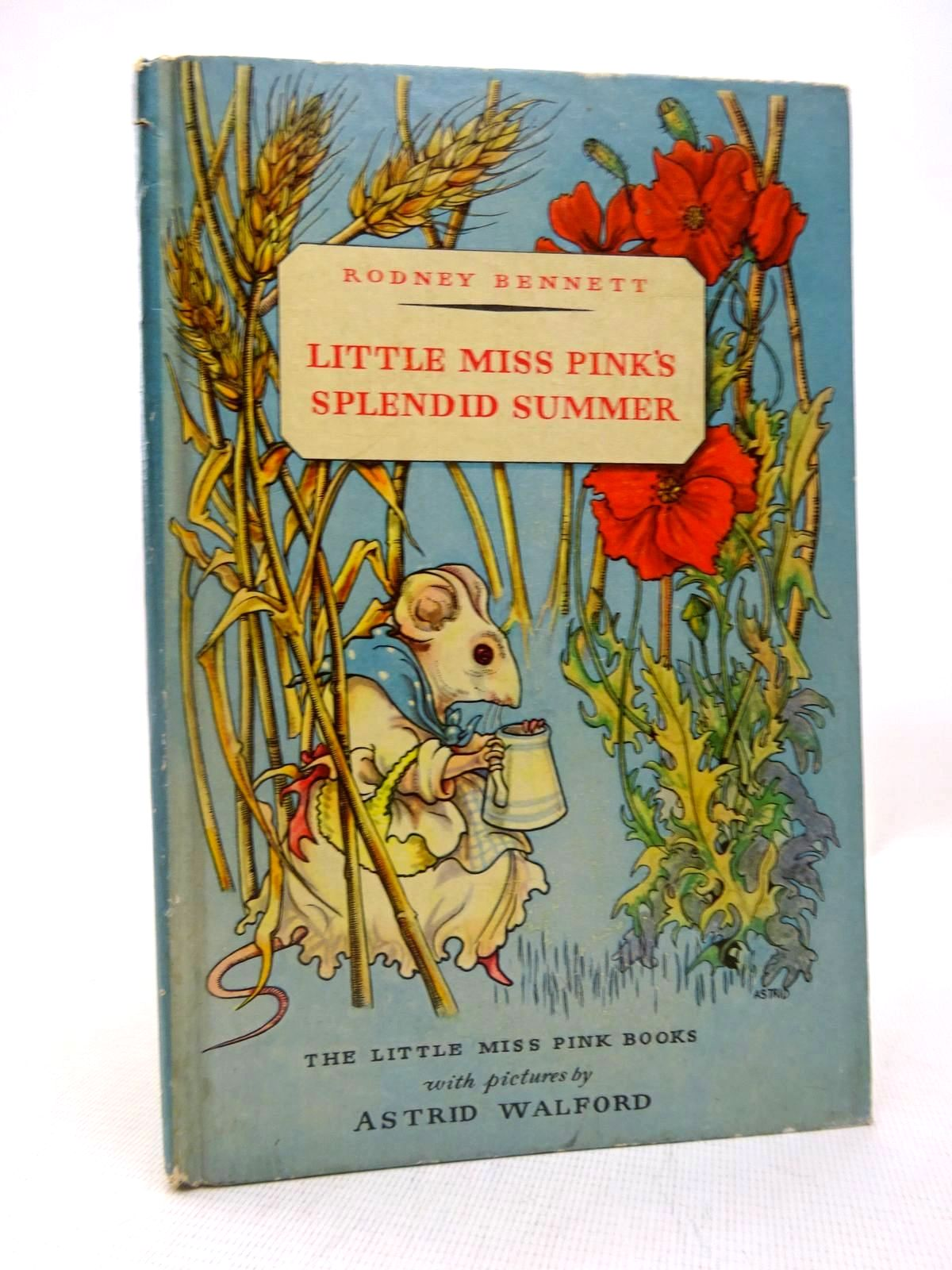 Photo of LITTLE MISS PINK'S SPLENDID SUMMER written by Bennett, Rodney illustrated by Walford, Astrid published by George G. Harrap & Co. Ltd. (STOCK CODE: 1816449)  for sale by Stella & Rose's Books