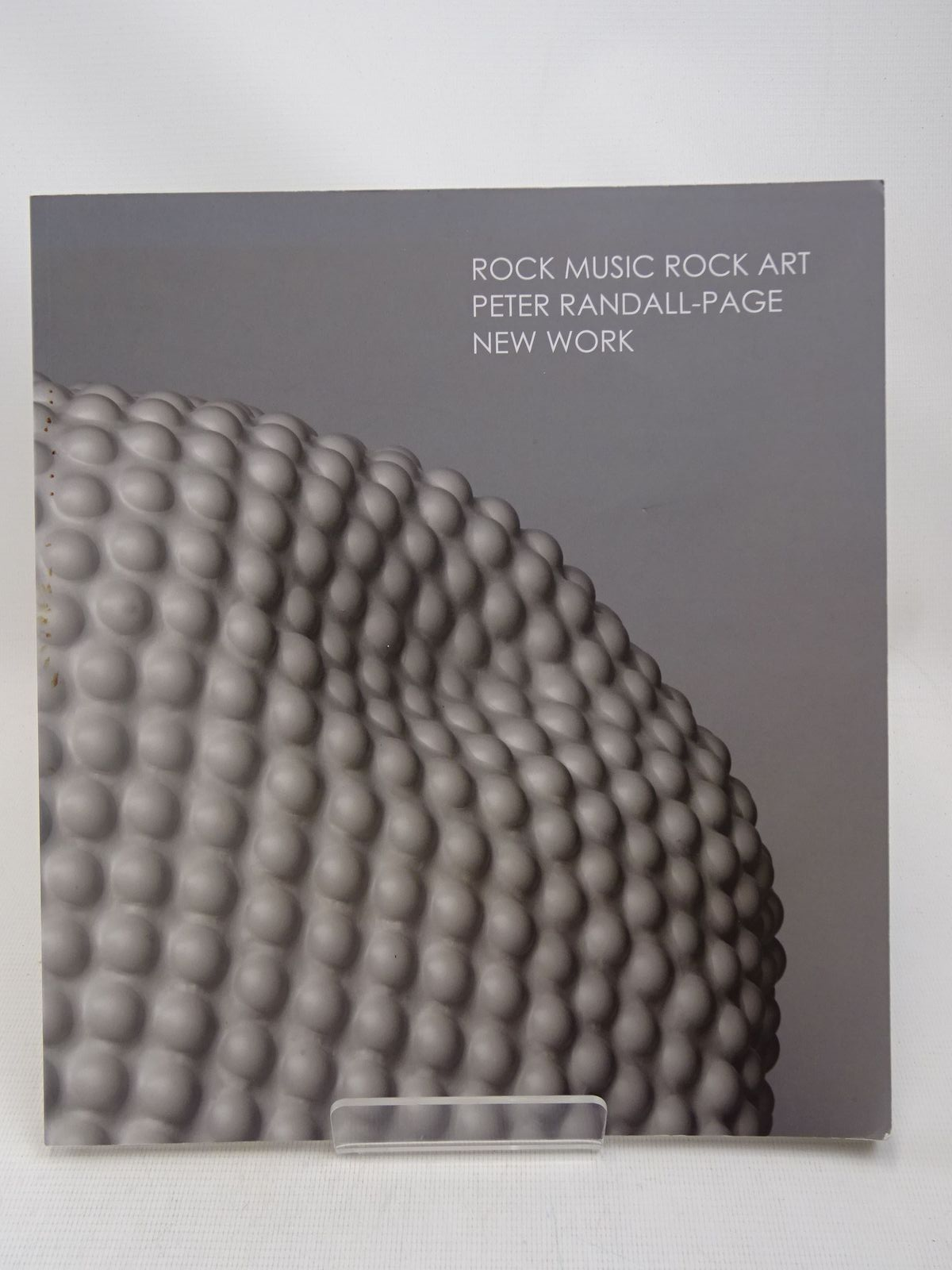 Photo of ROCK MUSIC ROCK ART: PETER RANDALL-PAGE NEW WORK written by Bielecka, Polly Kemp, Martin Kingdon, Rungwe illustrated by Randall-Page, Peter published by Pangolin London (STOCK CODE: 1816468)  for sale by Stella & Rose's Books