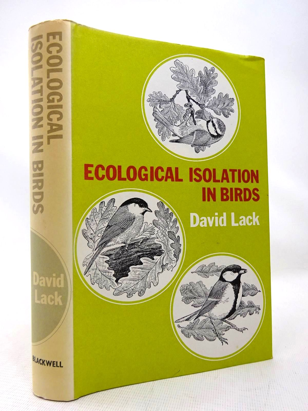 Photo of ECOLOGICAL ISOLATION IN BIRDS- Stock Number: 1816492
