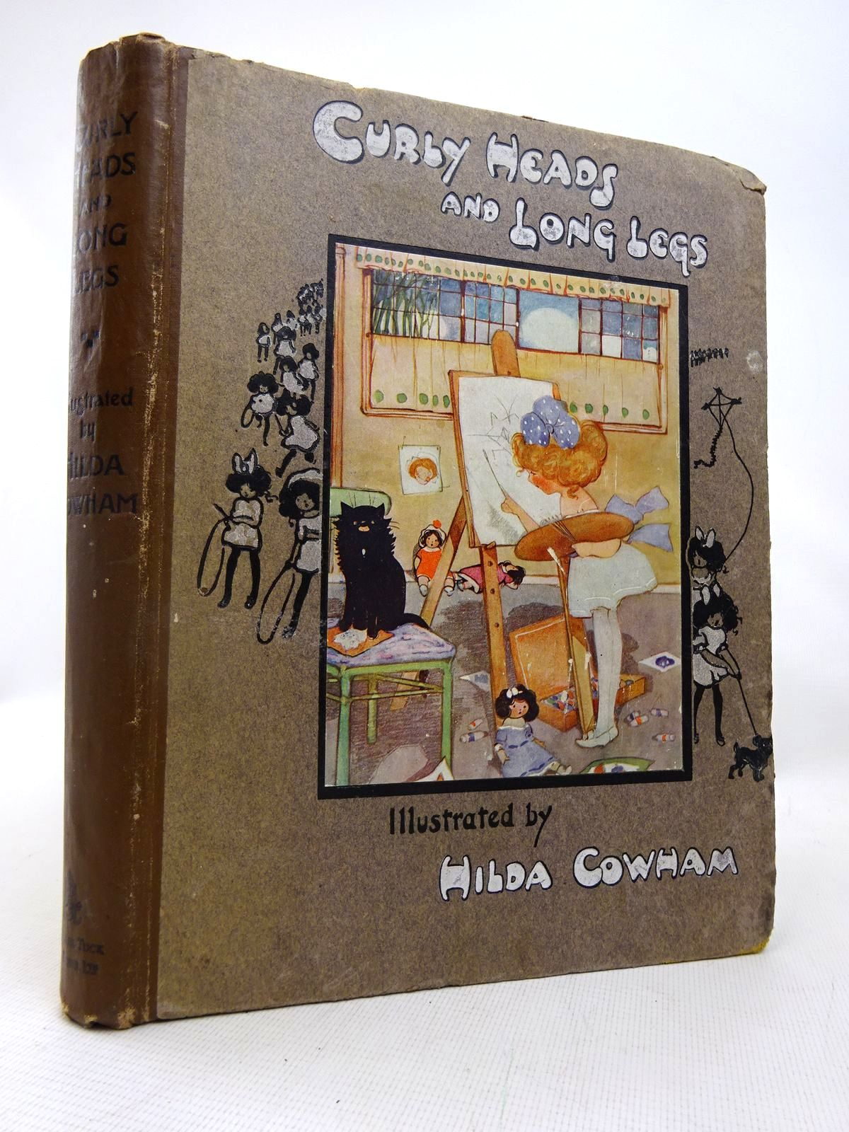 Photo of CURLY HEADS AND LONG LEGS written by Vredenburg, Edric