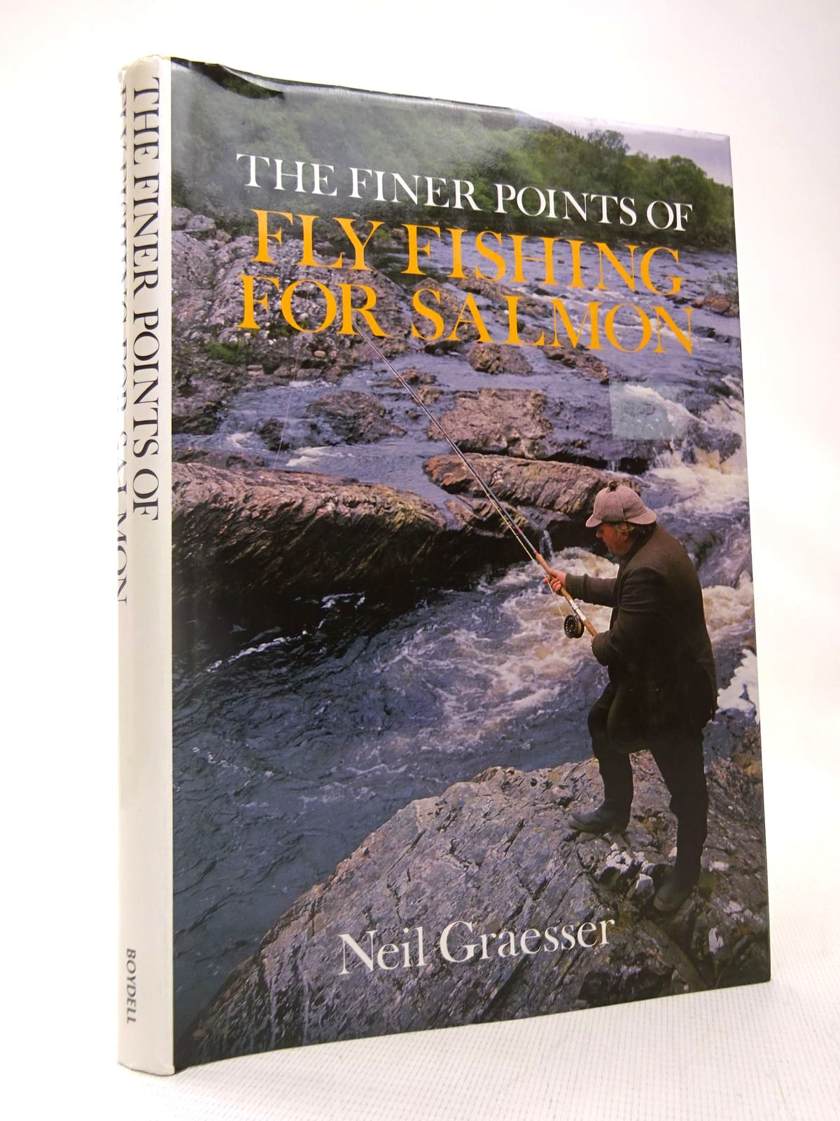 Photo of FINER POINTS OF FLY FISHING FOR SALMON written by Graesser, Neil published by The Boydell Press (STOCK CODE: 1816608)  for sale by Stella & Rose's Books