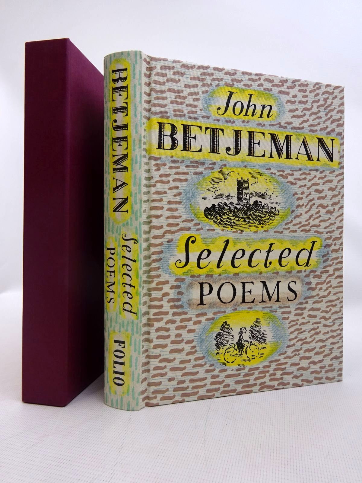 Photo of JOHN BETJEMAN SELECTED POEMS- Stock Number: 1816625