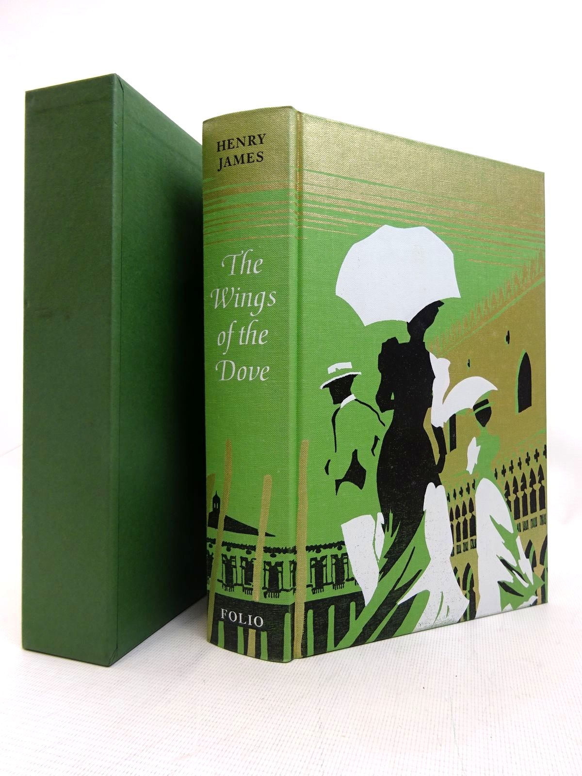 Photo of THE WINGS OF THE DOVE written by James, Henry illustrated by Bannister, Philip published by Folio Society (STOCK CODE: 1816629)  for sale by Stella & Rose's Books
