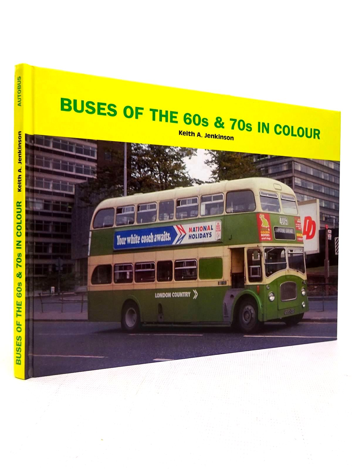 Photo of BUSES OF THE 60S & 70S IN COLOUR written by Jenkinson, Keith A. published by Autobus Review Publications (STOCK CODE: 1816724)  for sale by Stella & Rose's Books
