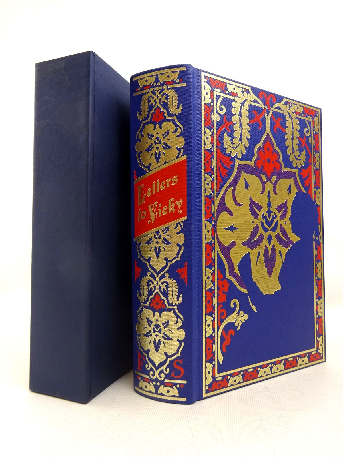 Photo of LETTERS TO VICKY written by Victoria, Queen Roberts, Andrew published by Folio Society (STOCK CODE: 1816734)  for sale by Stella & Rose's Books