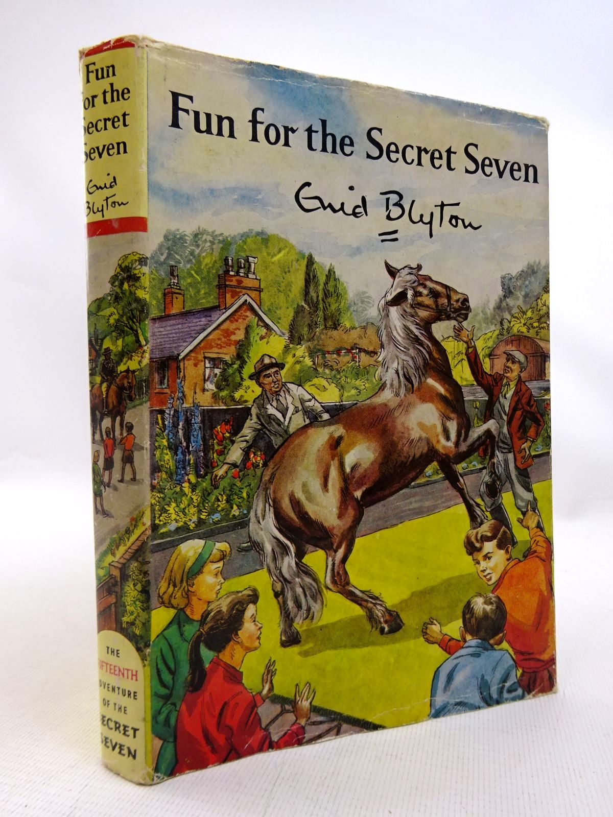 Photo of FUN FOR THE SECRET SEVEN written by Blyton, Enid illustrated by Sharrocks, Burgess published by Brockhampton Press (STOCK CODE: 1816761)  for sale by Stella & Rose's Books