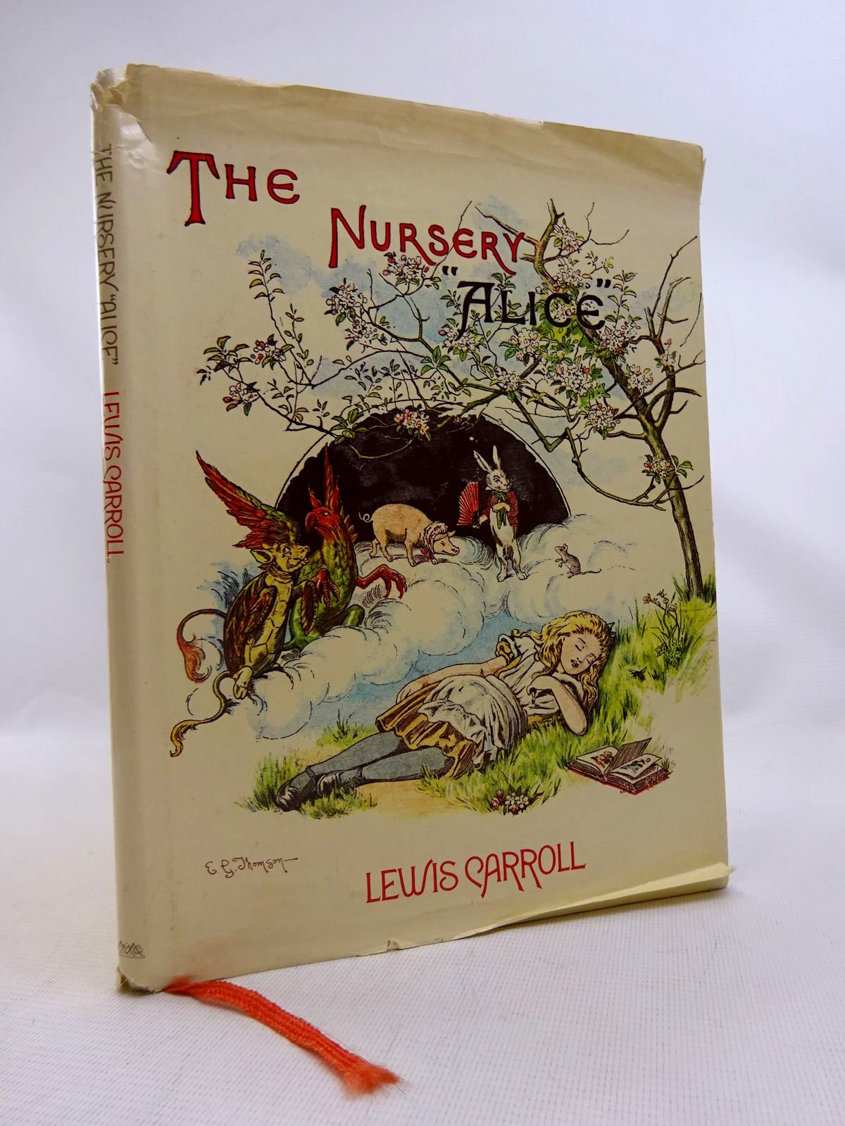 Photo of THE NURSERY ALICE written by Carroll, Lewis illustrated by Tenniel, John Thomson, E. Gertrude published by MacMillan Publishers Ltd., Godfrey Cave (STOCK CODE: 1816771)  for sale by Stella & Rose's Books
