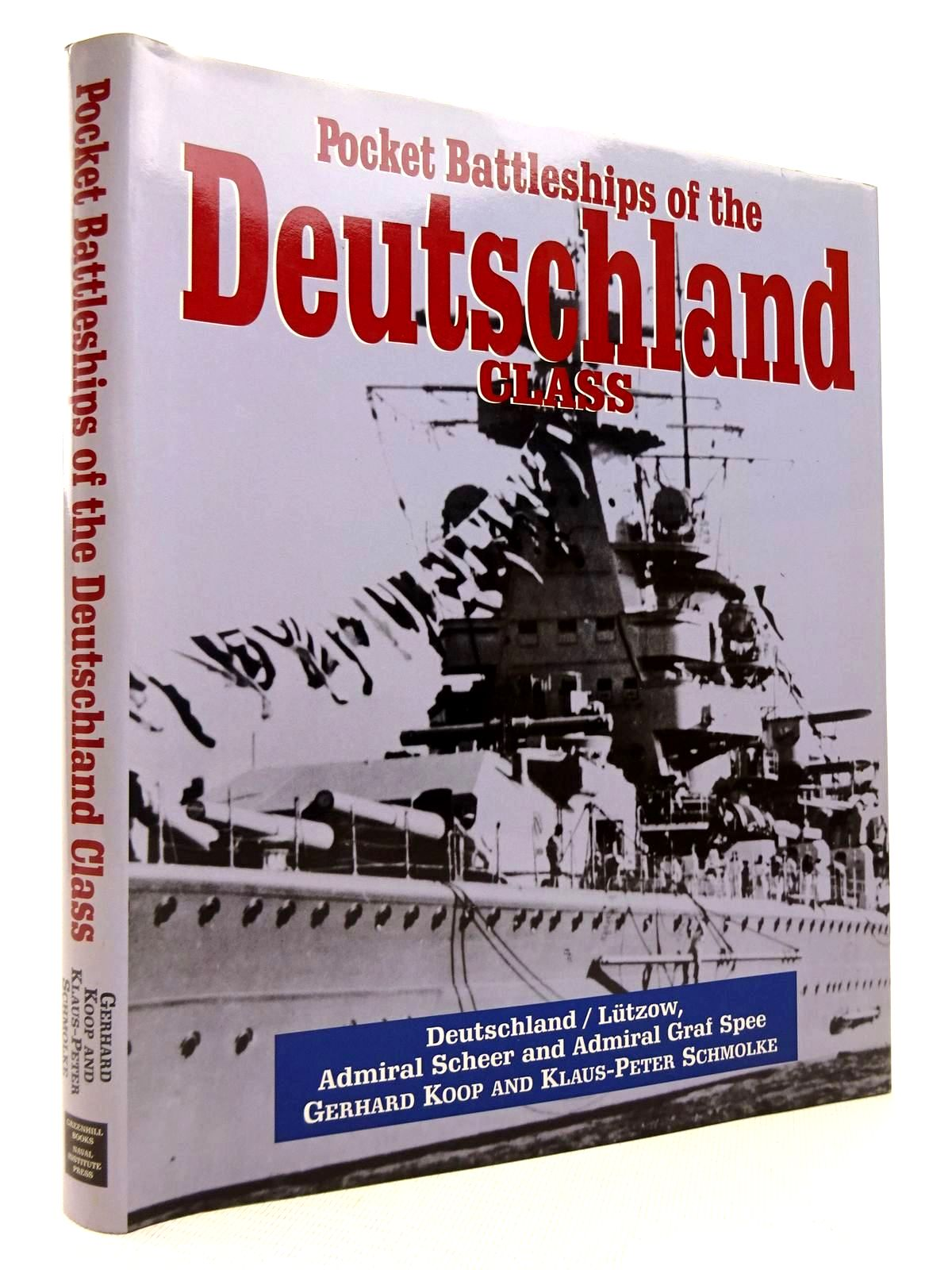 Photo of POCKET BATTLESHIPS OF THE DEUTSCHLAND CLASS written by Koop, Gerhard<br />Schmolke, Klaus-Peter published by Greenhill Books (STOCK CODE: 1816814)  for sale by Stella & Rose's Books