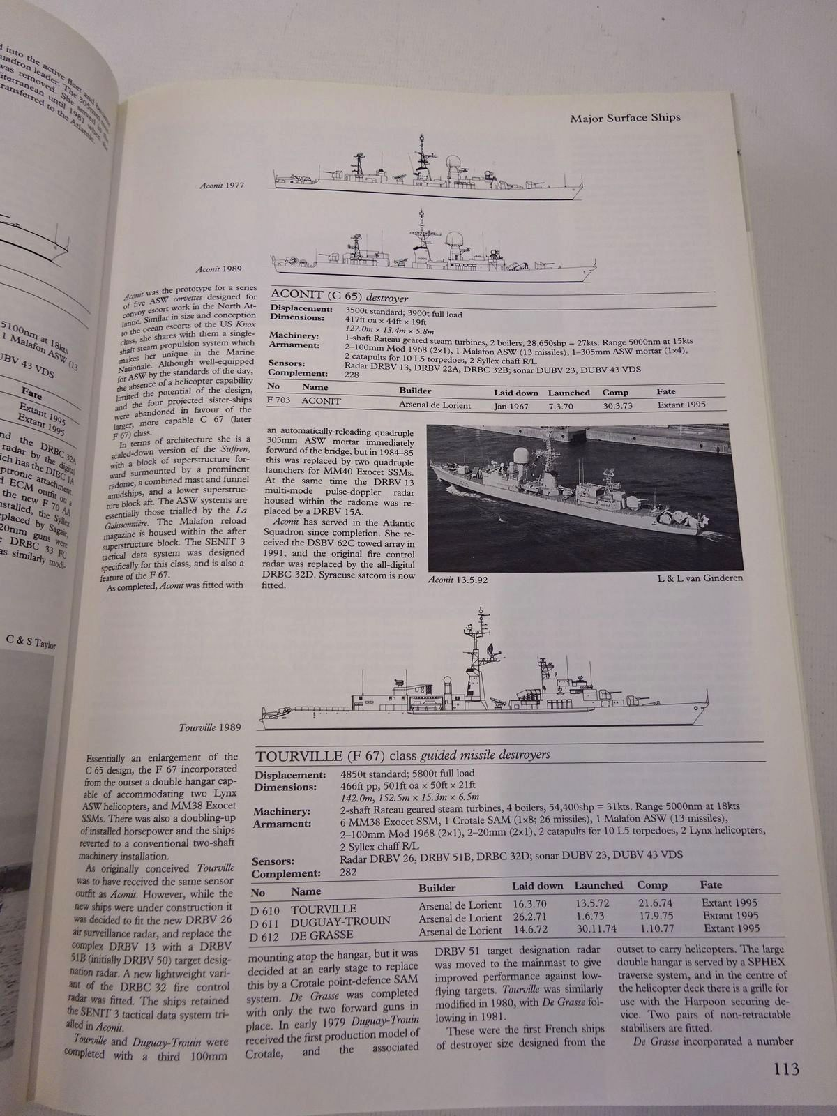 Photo of CONWAY'S ALL THE WORLD'S FIGHTING SHIPS 1947-1995 written by Gardiner, Robert published by Conway Maritime Press (STOCK CODE: 1816908)  for sale by Stella & Rose's Books