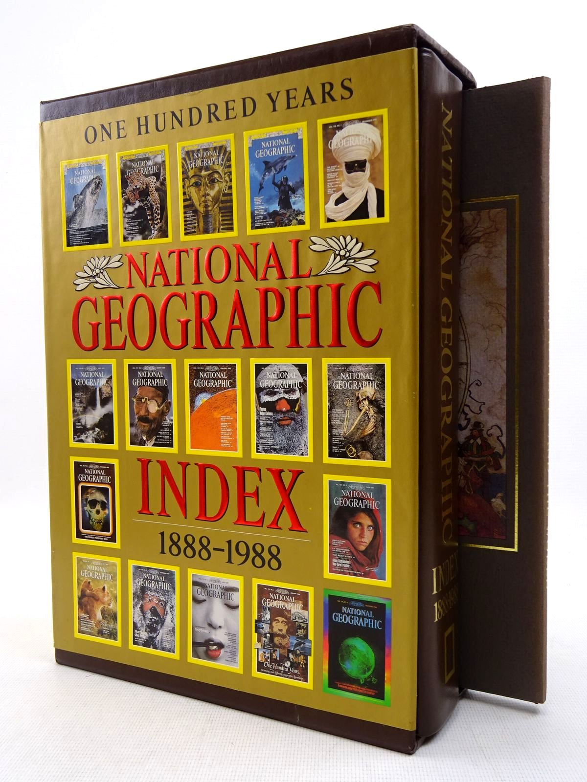 Photo of NATIONAL GEOGRAPHIC INDEX 1888-1988 written by Garrett, Willbur E. published by National Geographic Society (STOCK CODE: 1816940)  for sale by Stella & Rose's Books